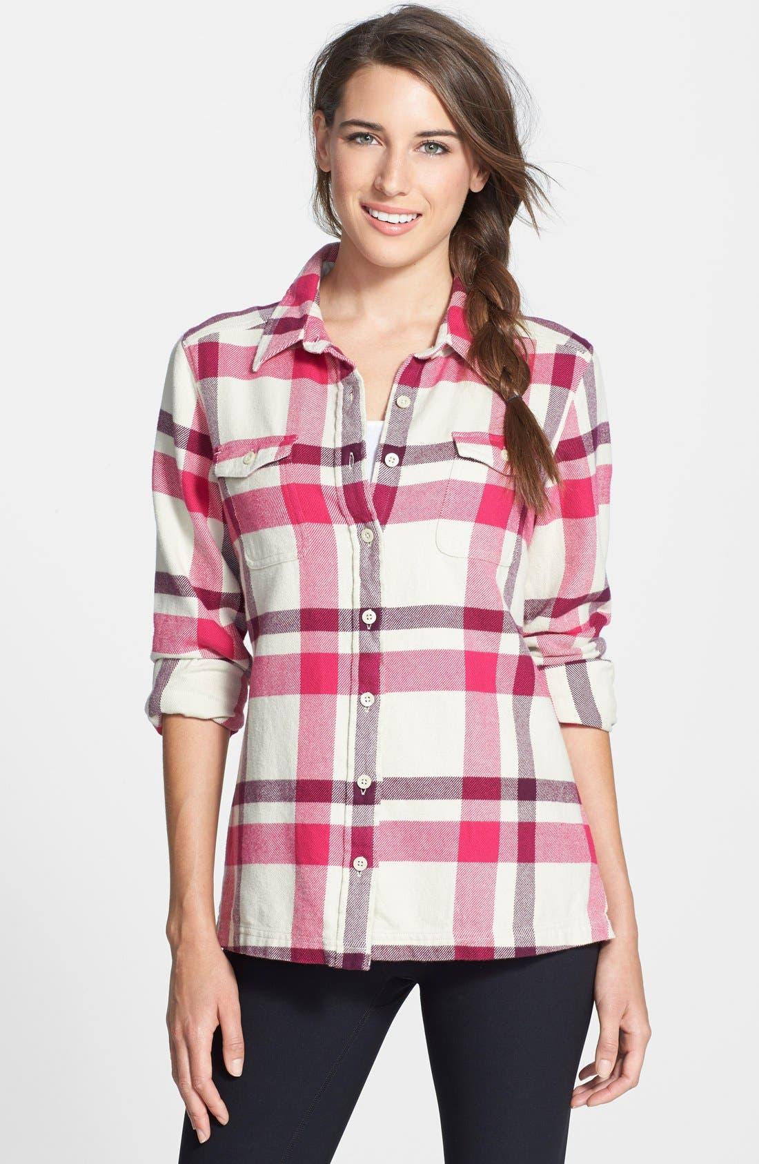 'Fjord' Flannel Shirt,                             Main thumbnail 6, color,