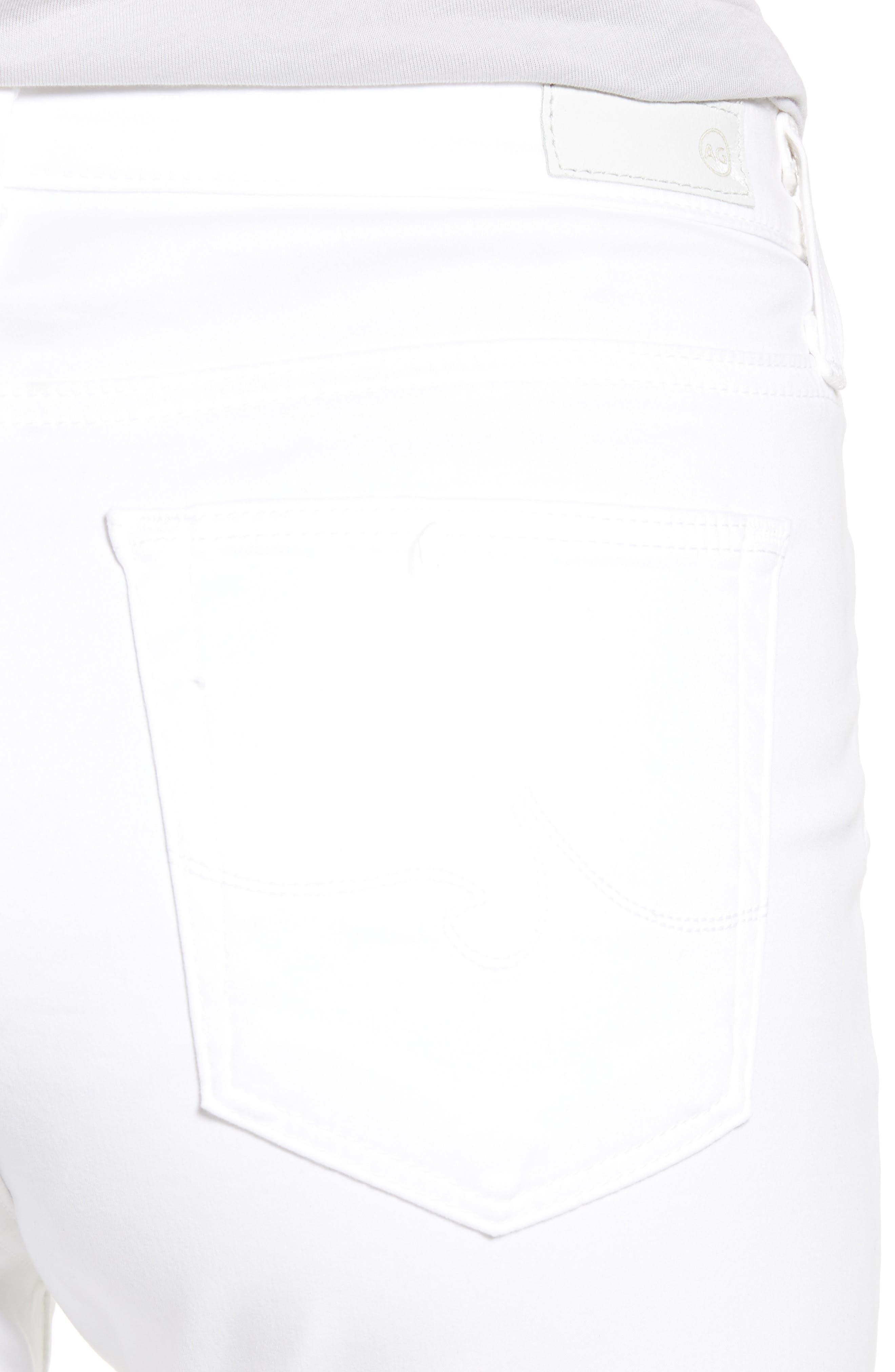 AG,                             'The Prima' Cigarette Leg Skinny Jeans,                             Alternate thumbnail 4, color,                             110