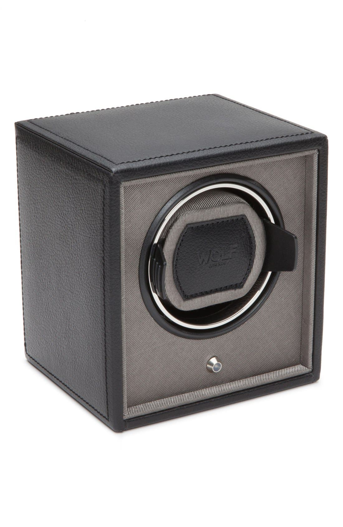Cub Watch Winder,                             Main thumbnail 1, color,                             BLACK