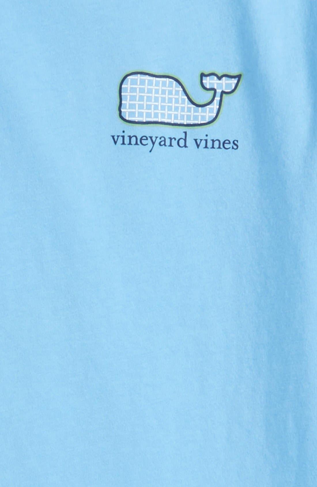 VINEYARD VINES,                             'Tennis Racquet' Graphic T-Shirt,                             Alternate thumbnail 3, color,                             484