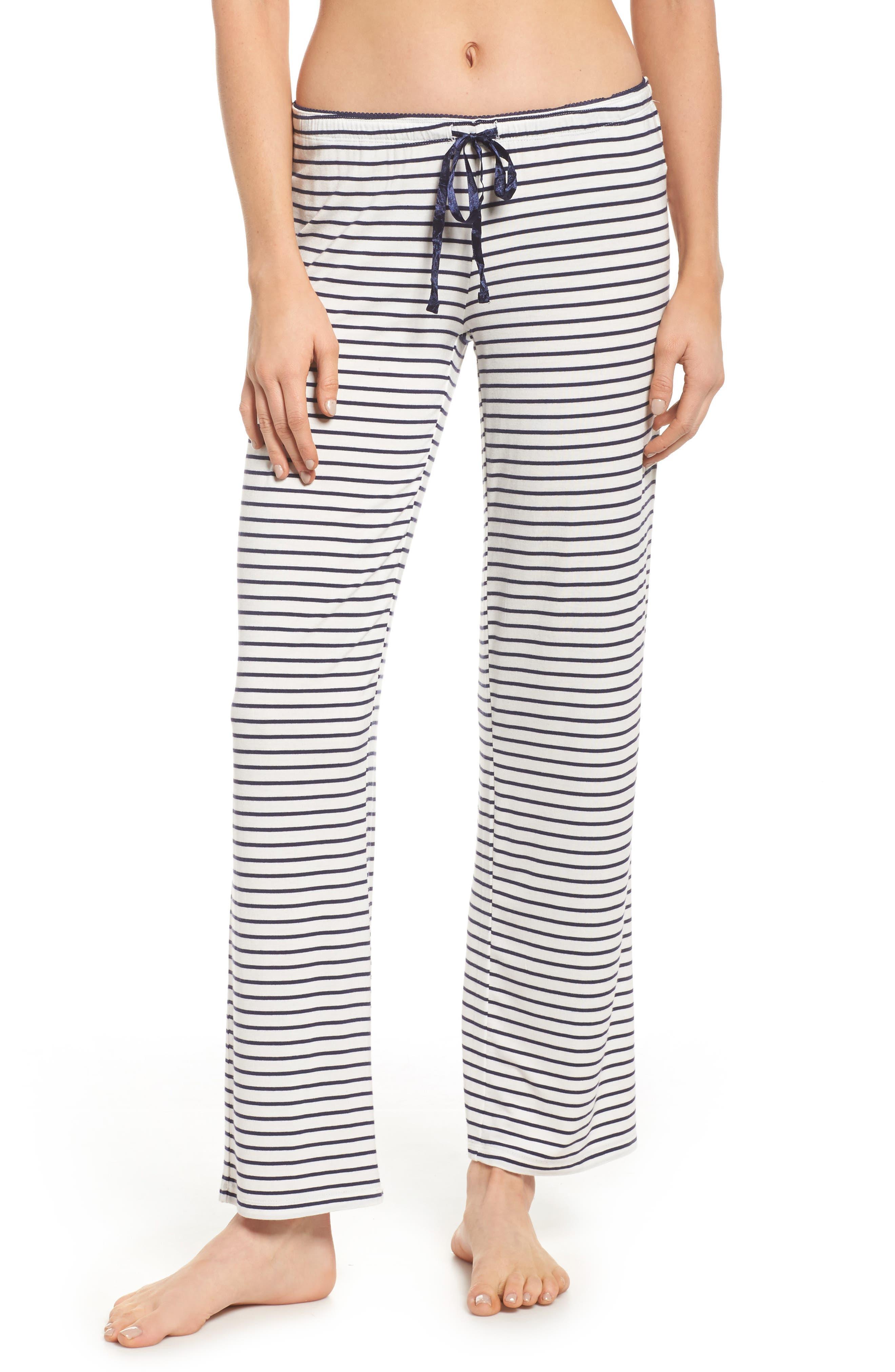 Stripe Pajama Pants,                             Main thumbnail 1, color,                             900