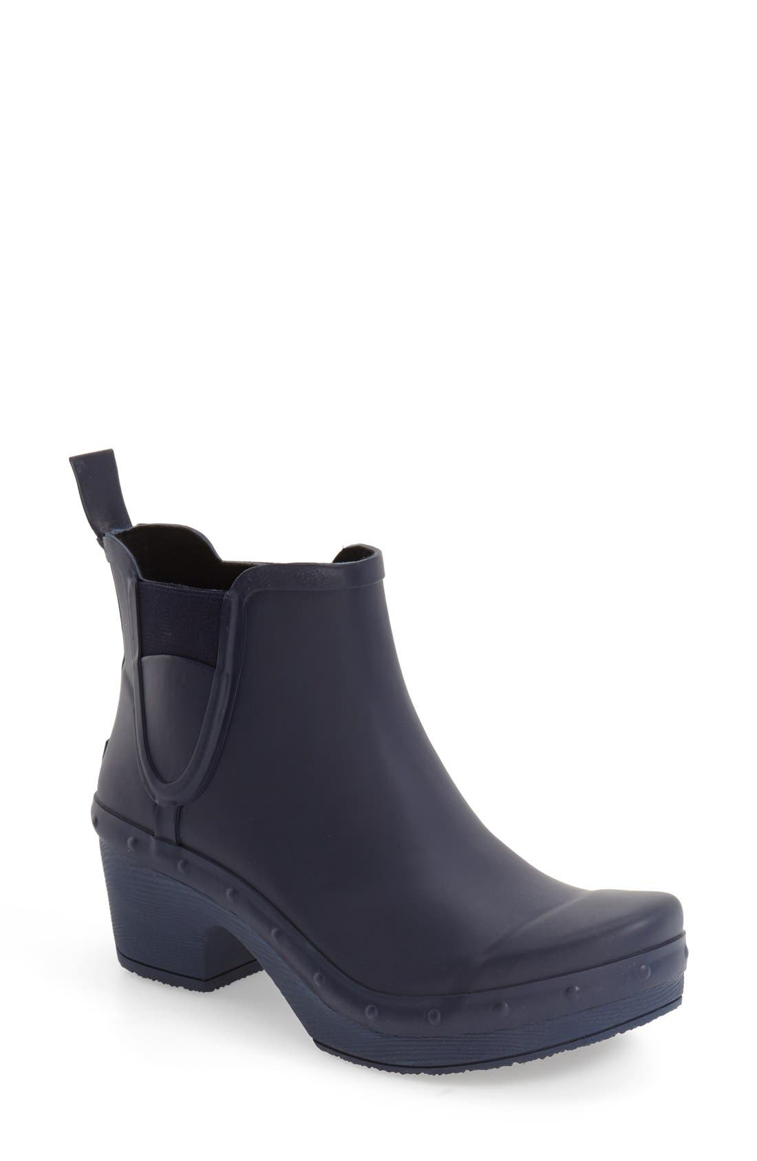 'Rosa' Chelsea Rain Boot,                             Main thumbnail 4, color,