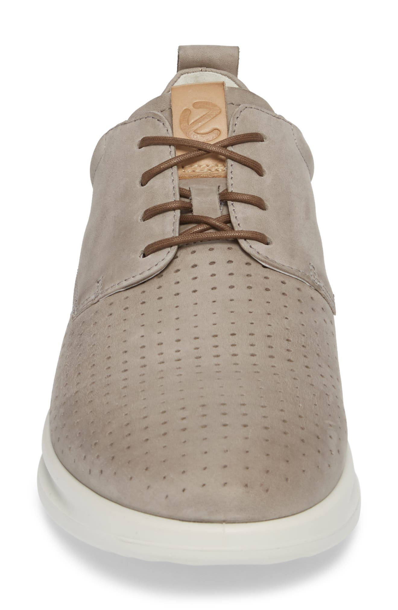 Aquet Sneaker,                             Alternate thumbnail 4, color,                             MOON ROCK LEATHER
