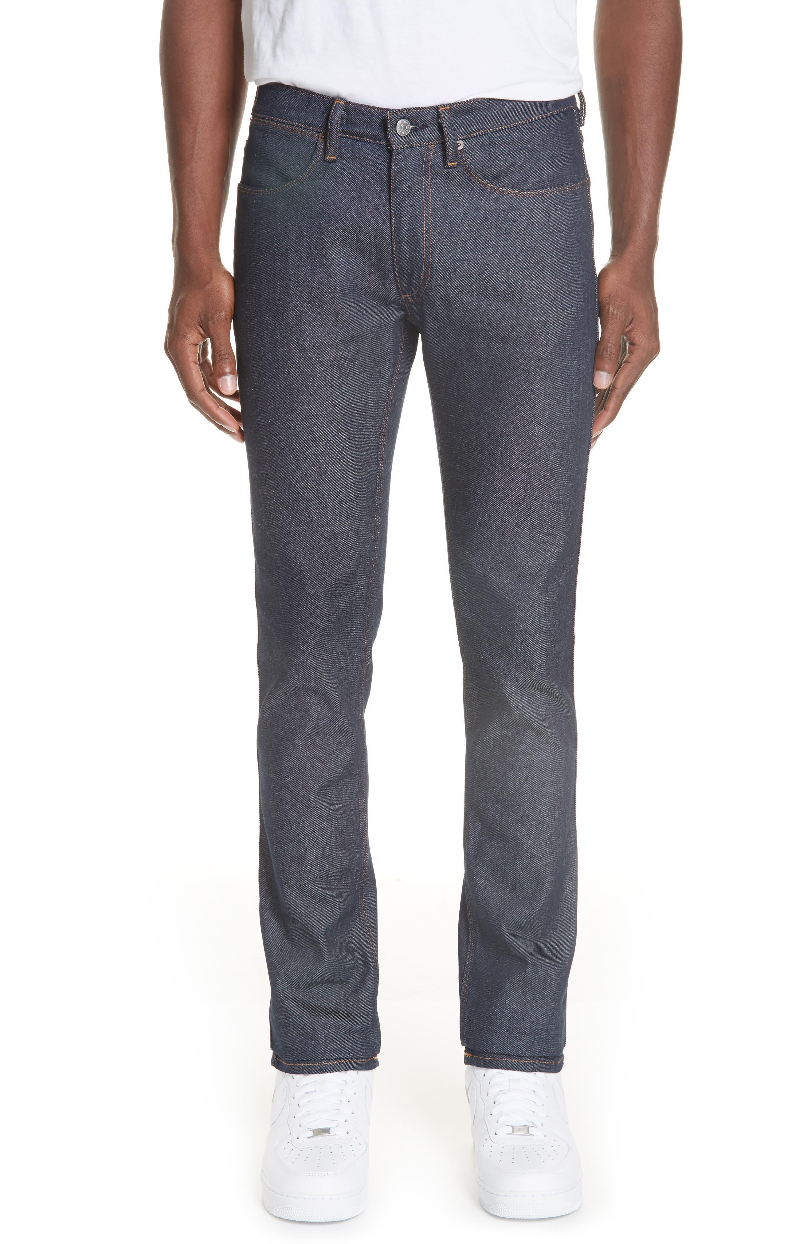 Max Slim Straight Leg Jeans,                             Main thumbnail 1, color,                             MAX INDIGO