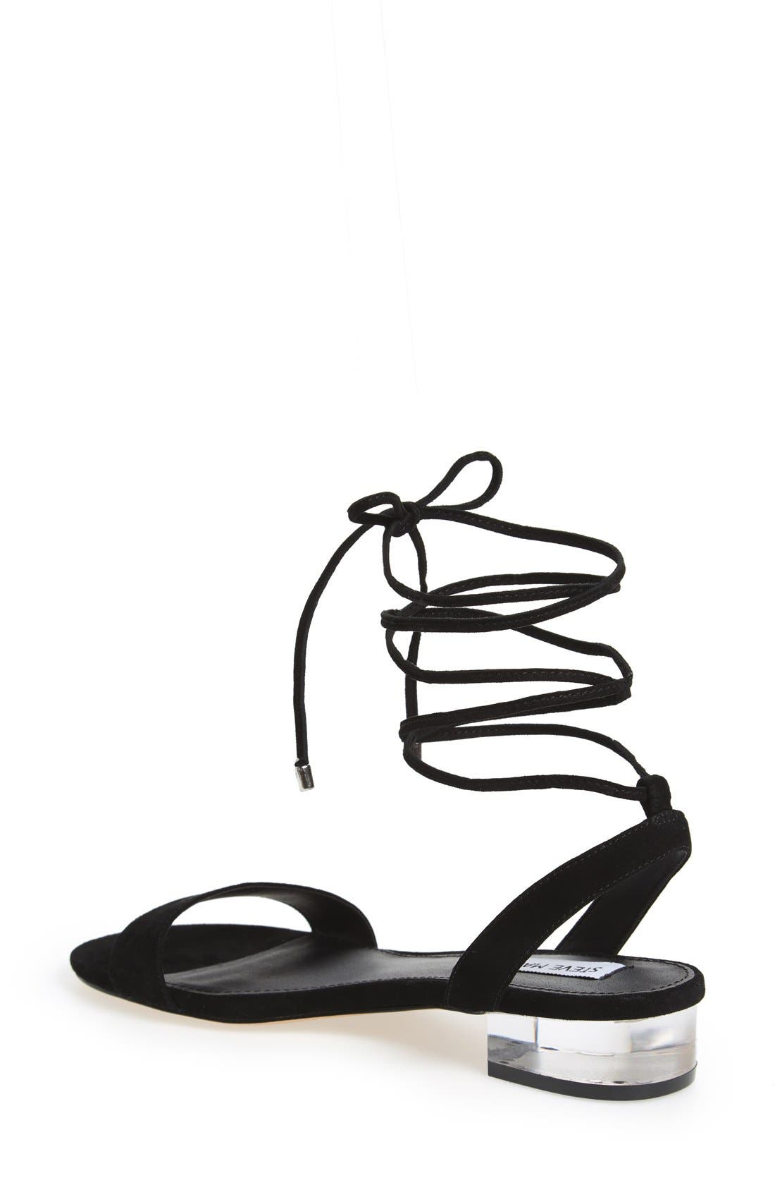'Carolyn' Lace-Up Sandal,                             Alternate thumbnail 2, color,                             006