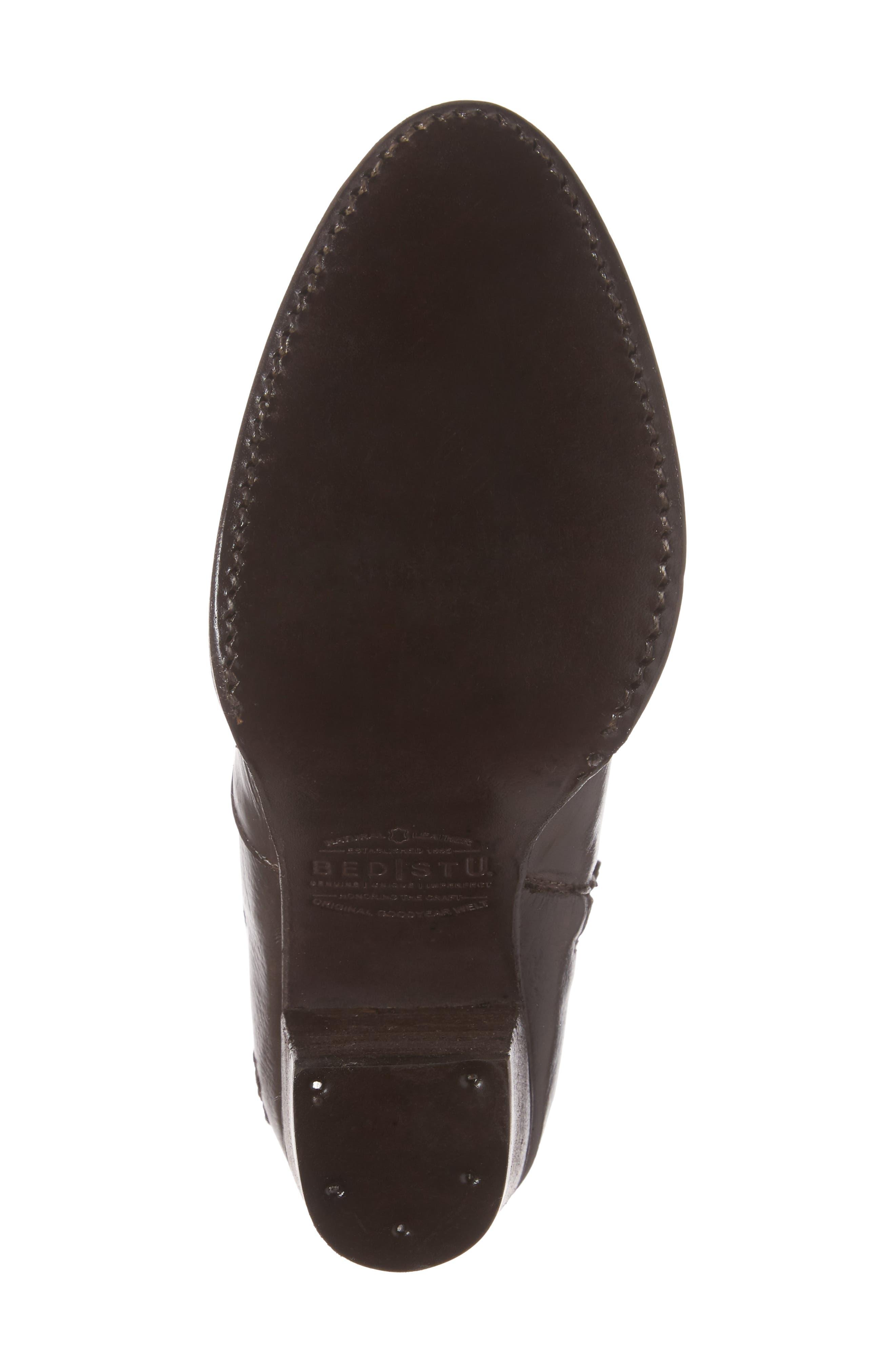 'Isla' Stacked Heel Boot,                             Alternate thumbnail 6, color,                             201
