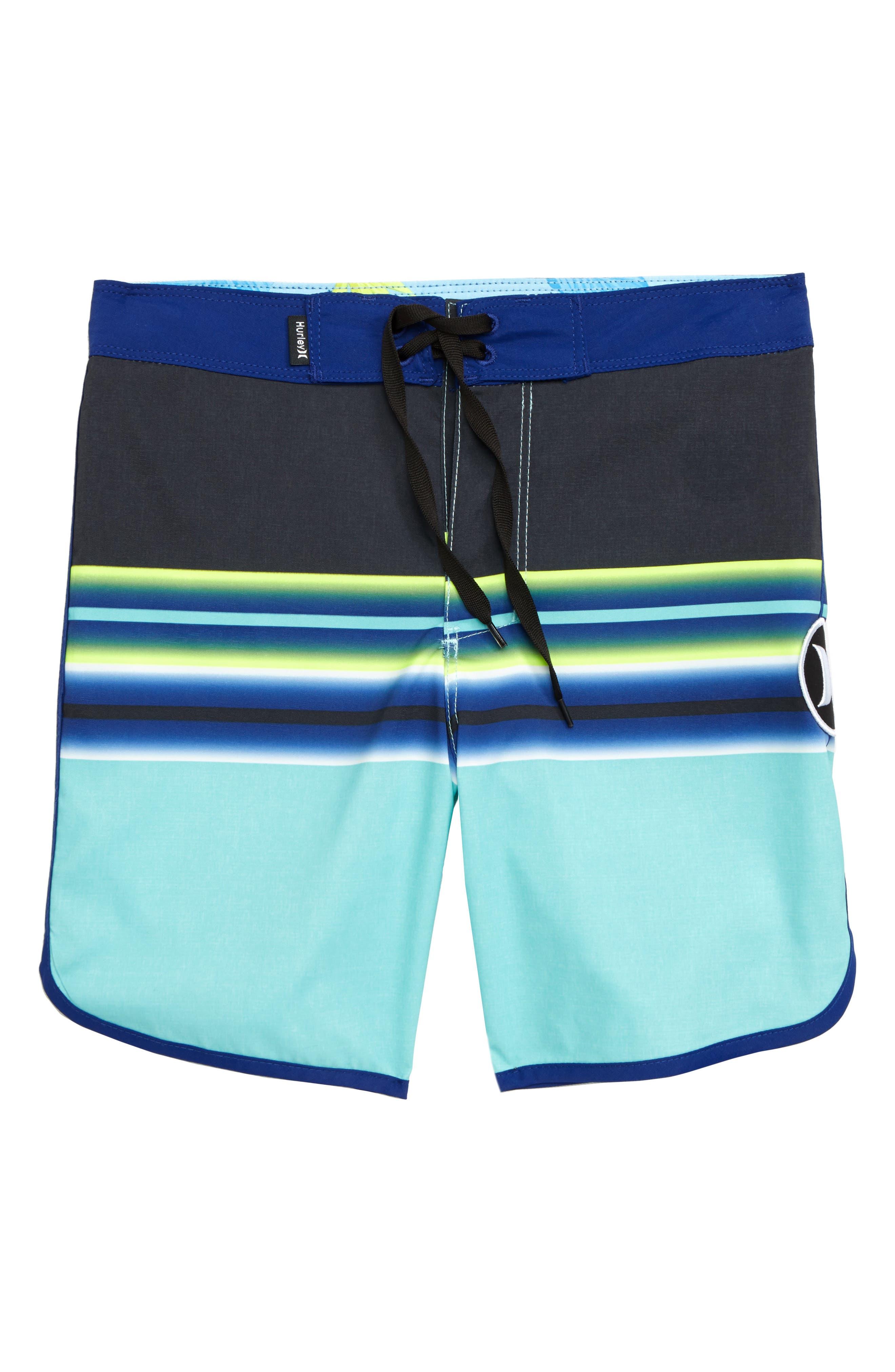 Zen Stripe Board Shorts,                             Main thumbnail 1, color,                             TROPICAL TWIST