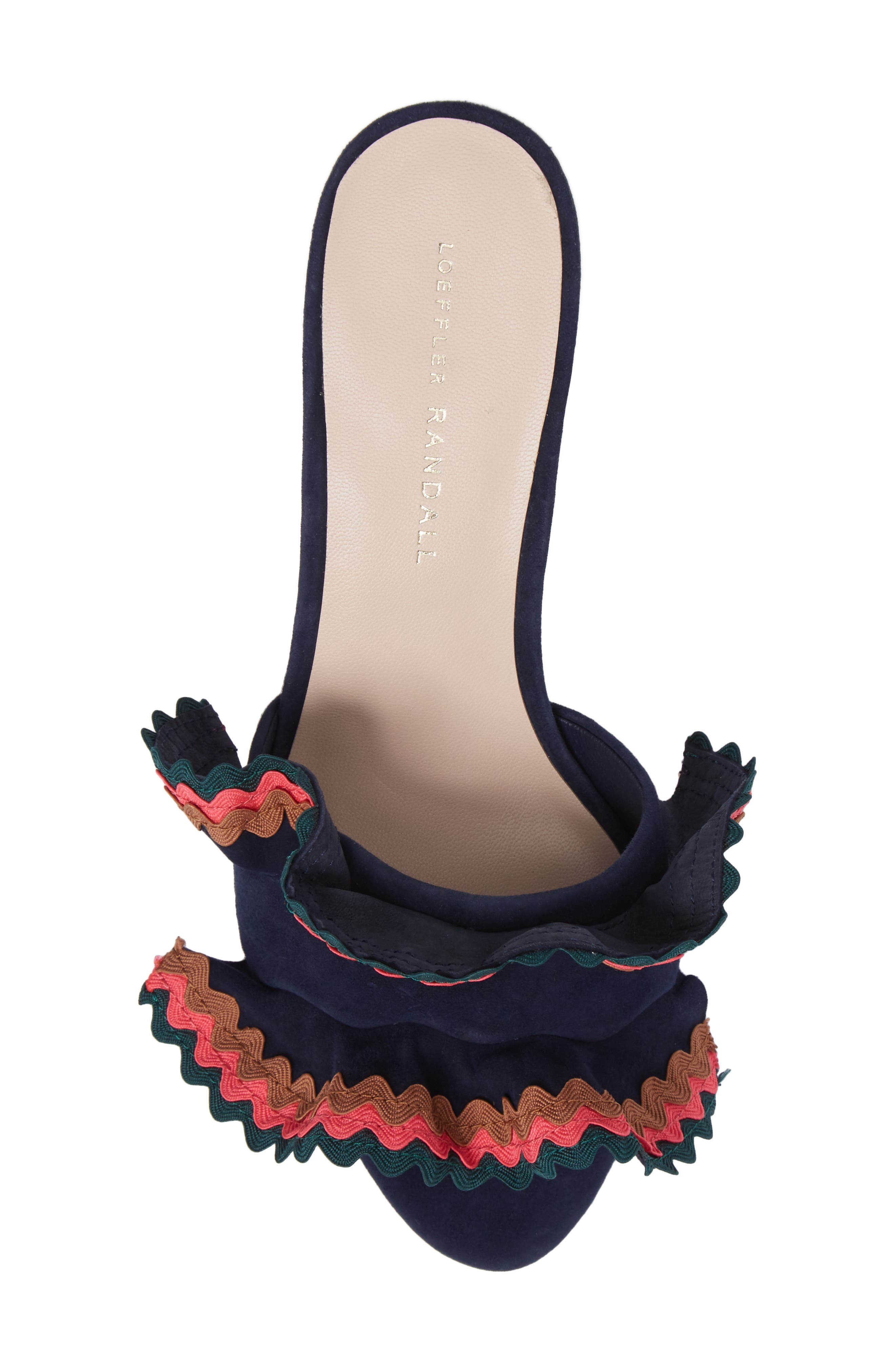 Vera Ruffled Slide Sandal,                             Alternate thumbnail 5, color,                             499