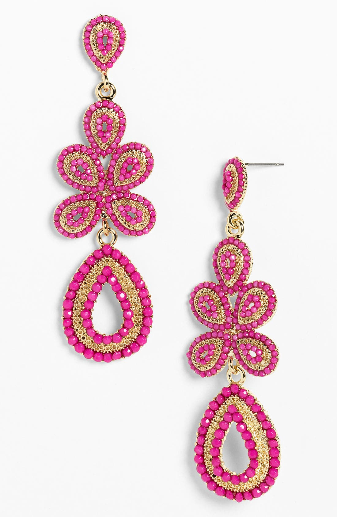 'Ornate' Linear Statement Earrings,                             Main thumbnail 13, color,