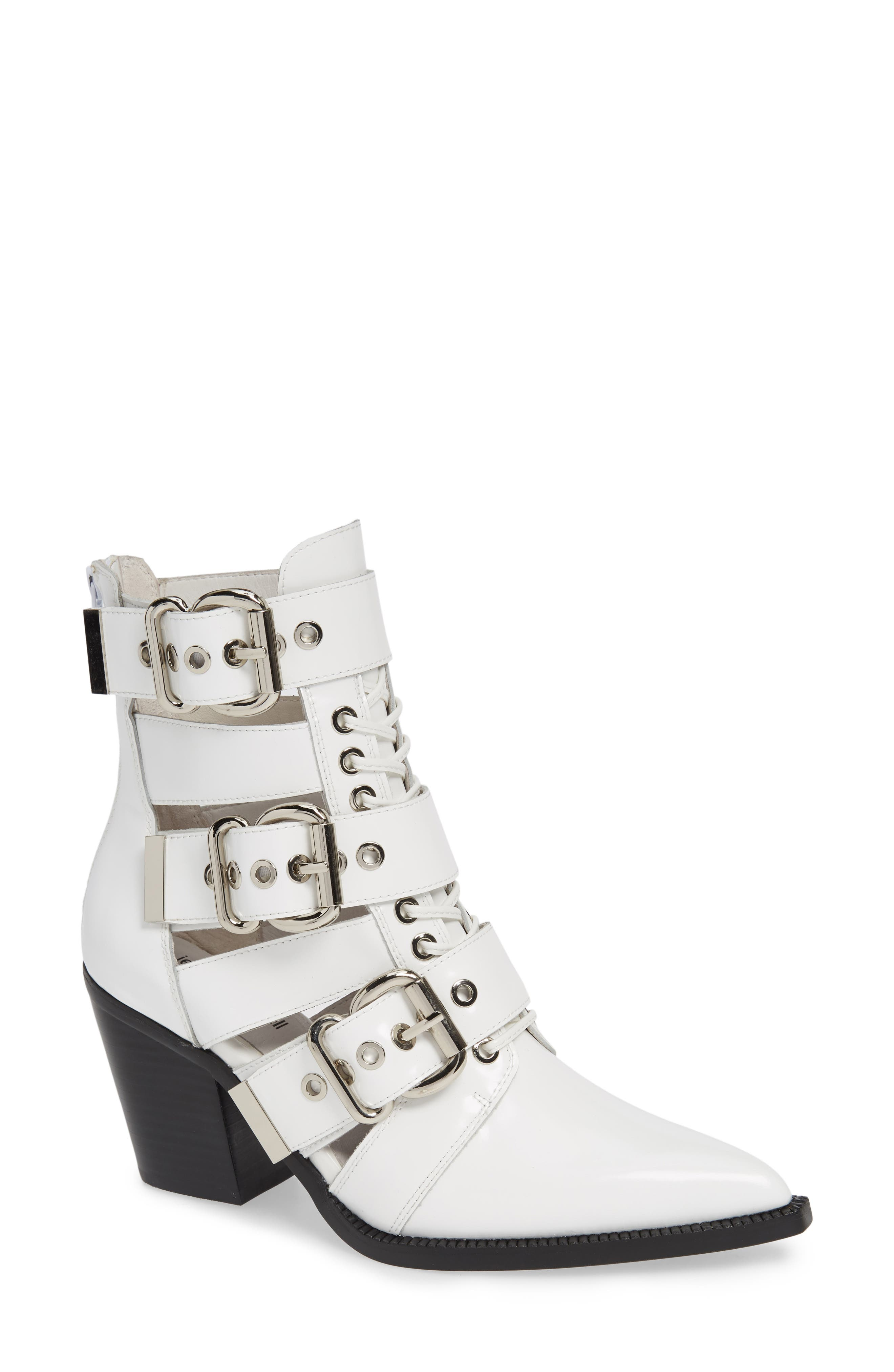 Jeffrey Campbell Caceres Bootie, White