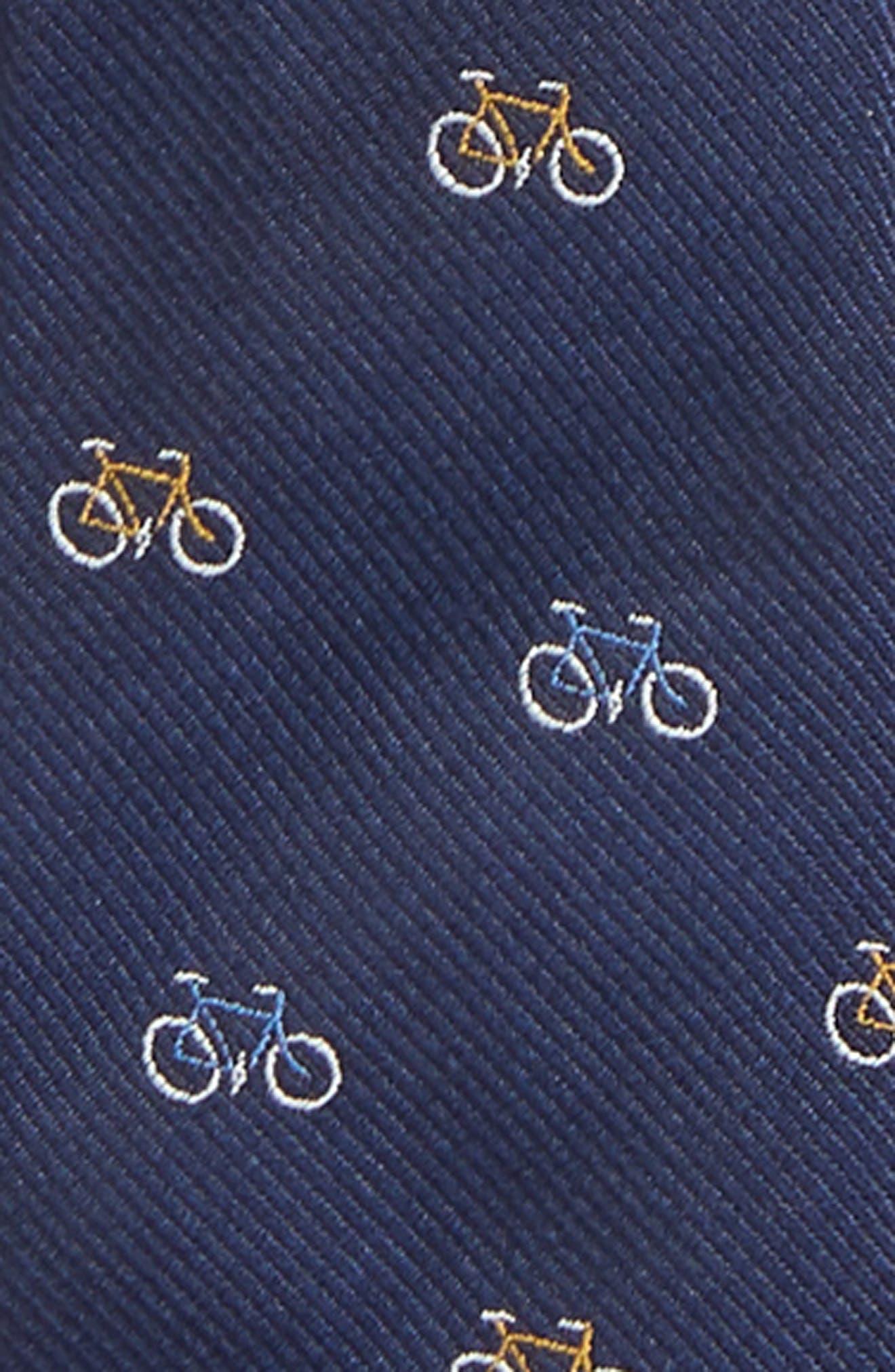 Bike Silk Zip Tie,                             Alternate thumbnail 2, color,                             NAVY