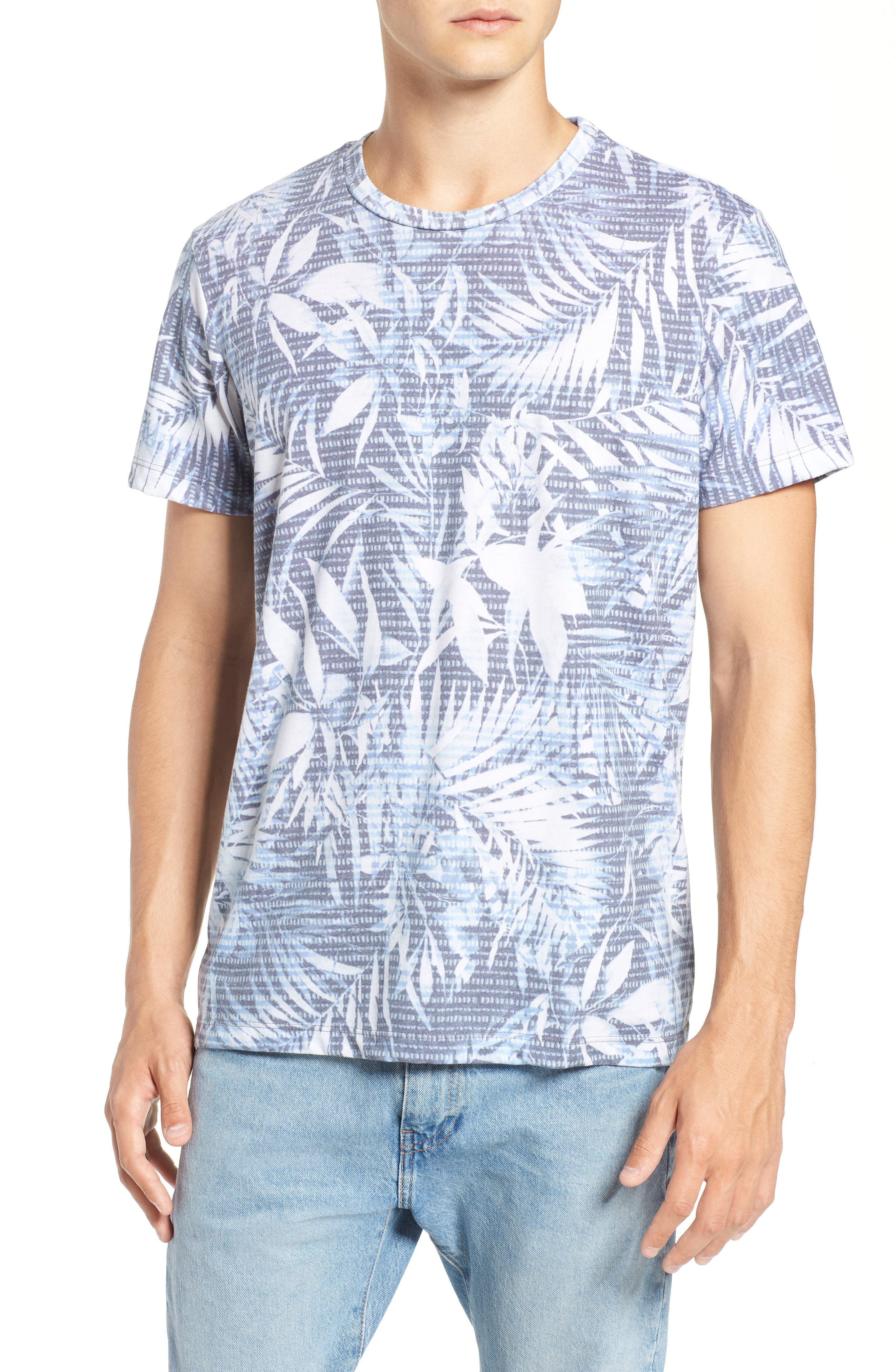 Twilight Floral T-Shirt,                             Main thumbnail 1, color,                             400