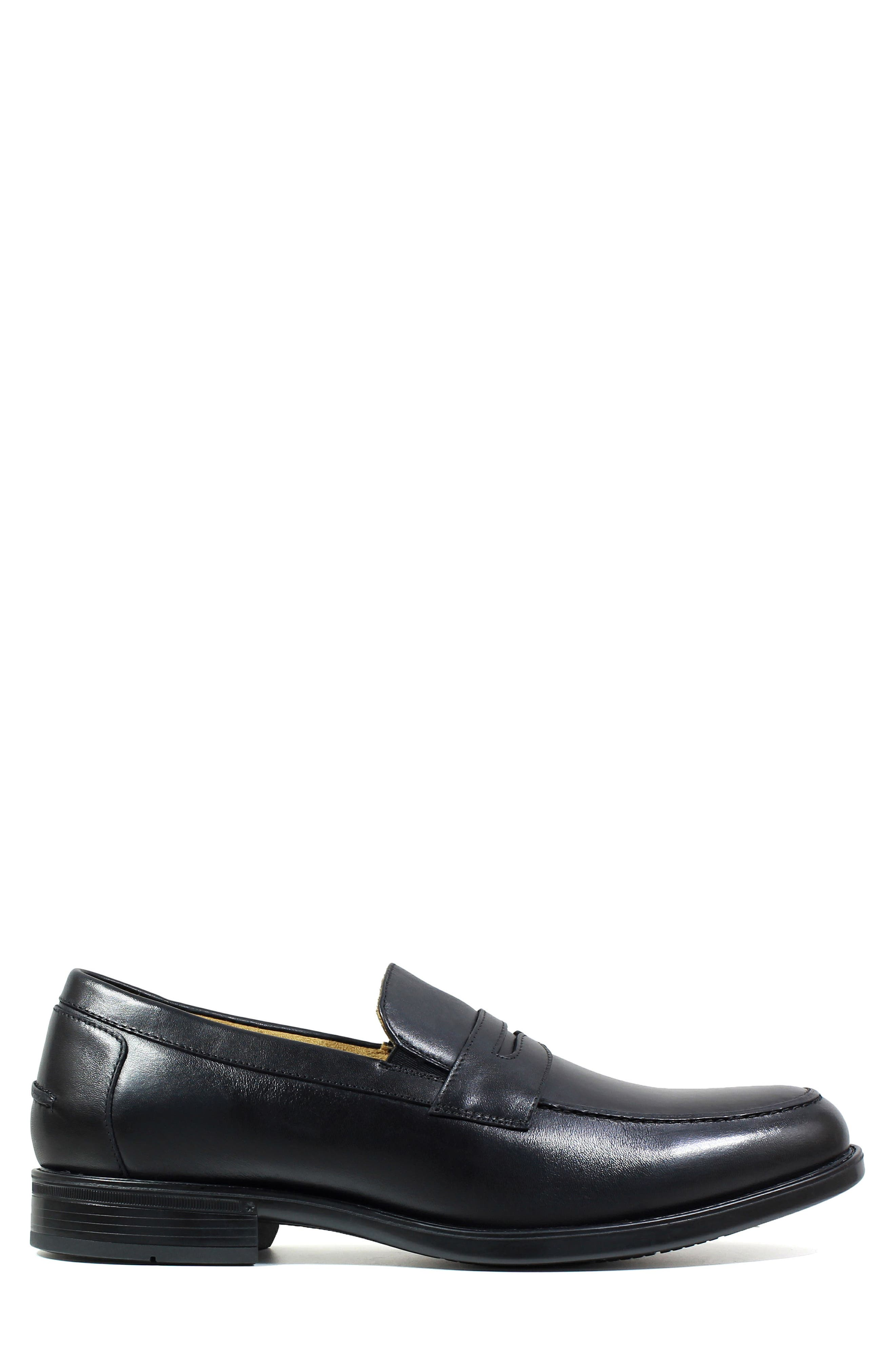 Midtown Penny Loafer,                             Alternate thumbnail 3, color,                             001