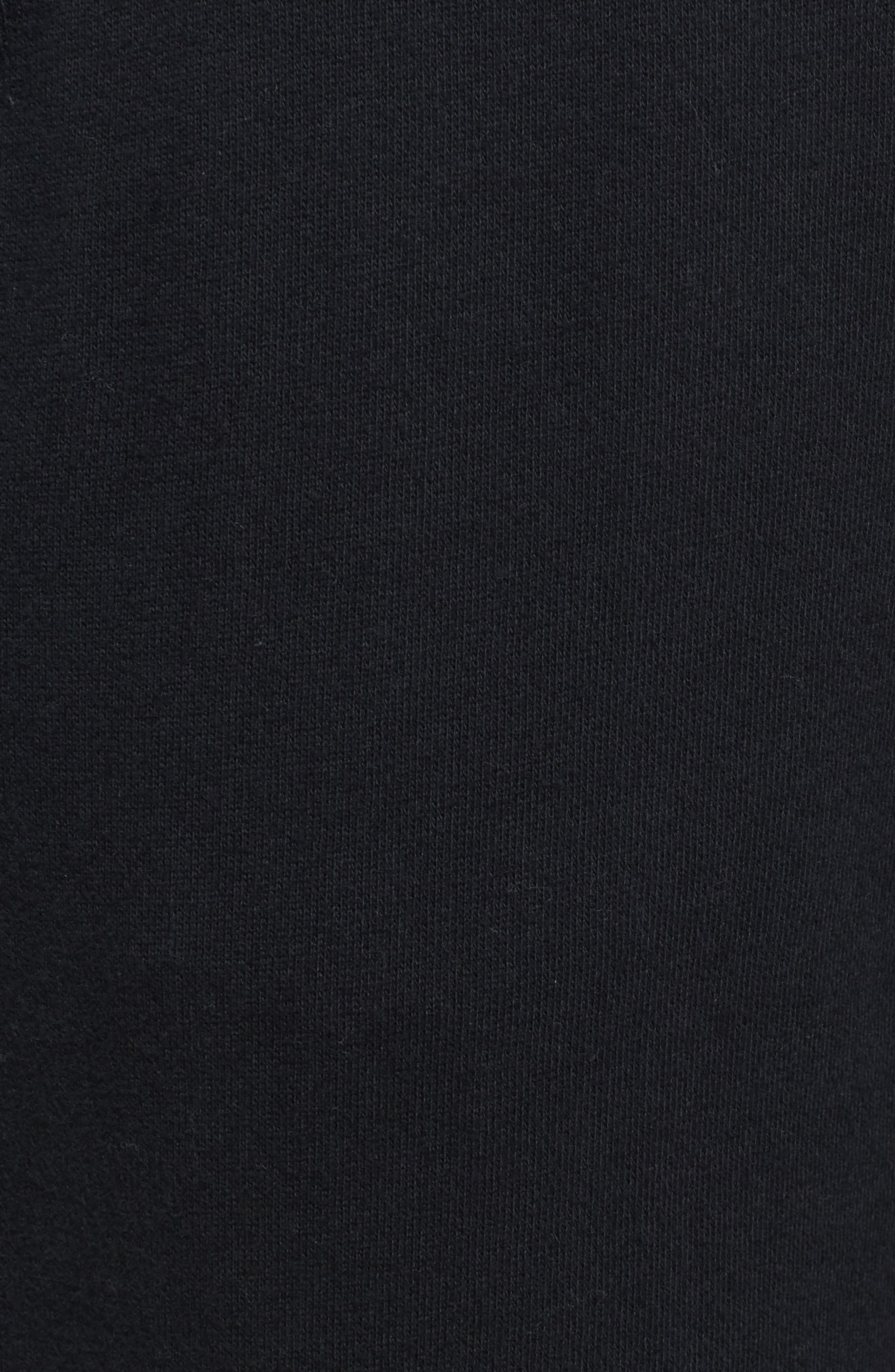 Babe Jogger Pants,                             Alternate thumbnail 5, color,                             BLACK