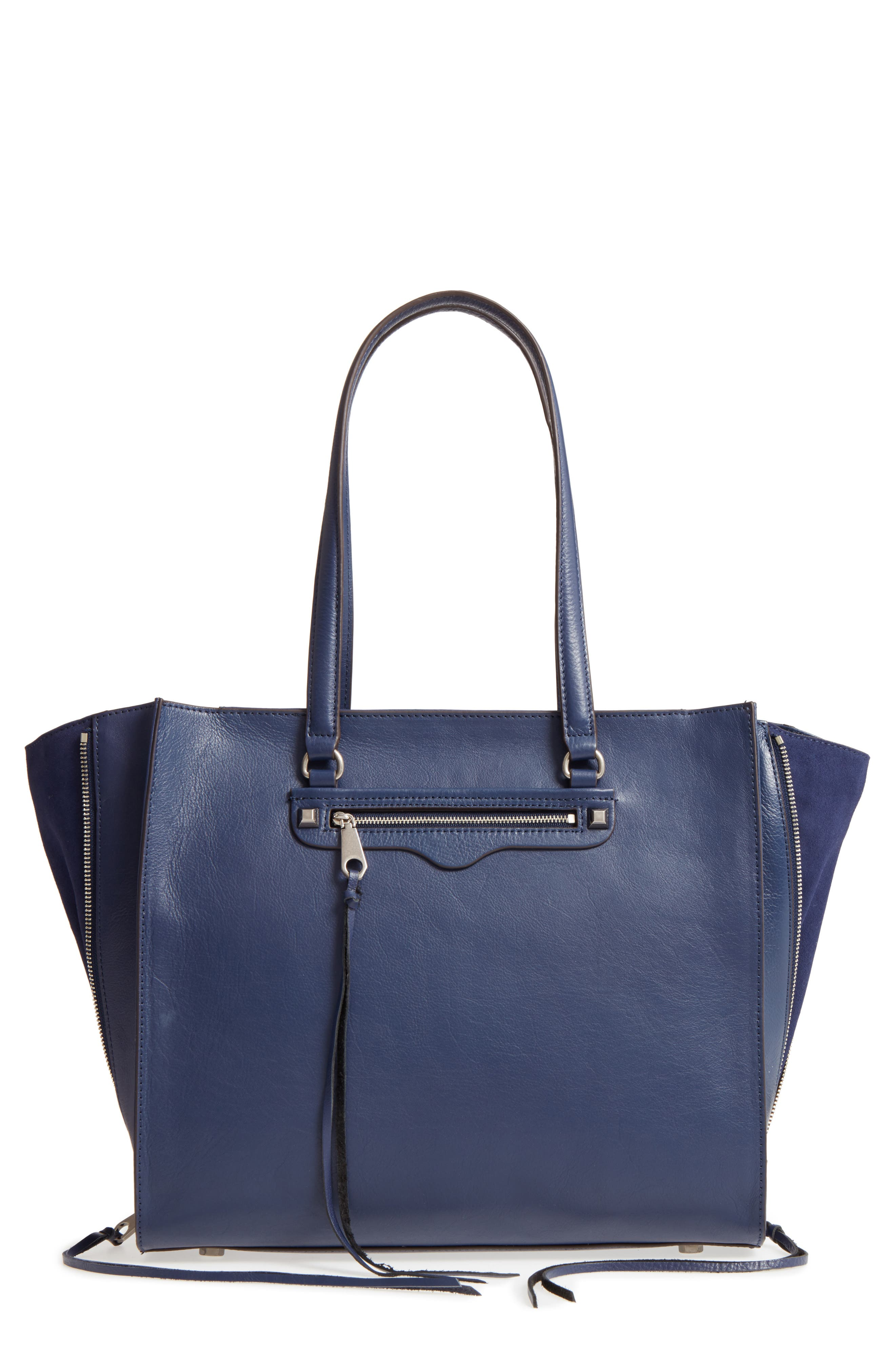 Always On Regan Leather Tote,                             Main thumbnail 1, color,