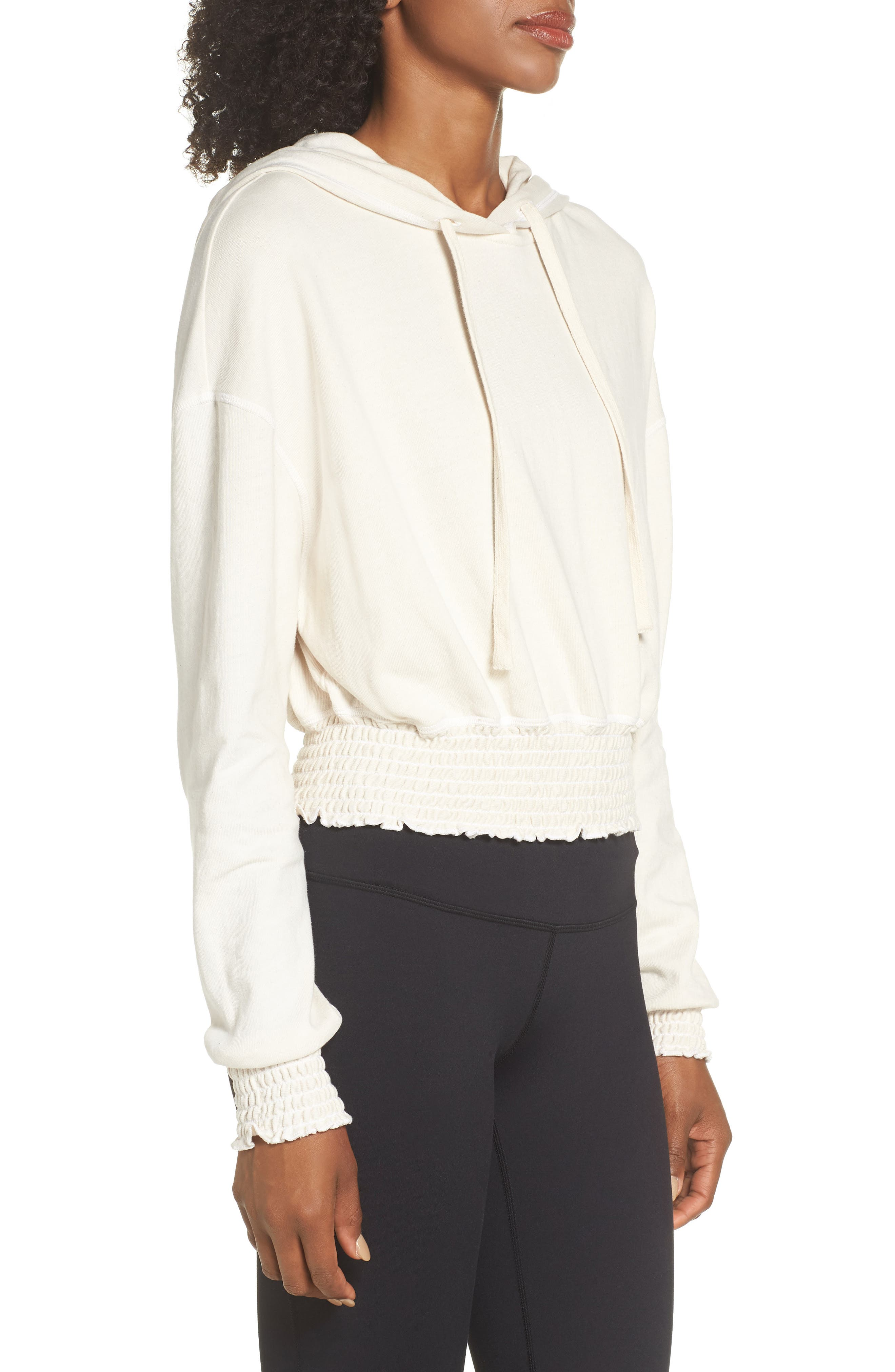 Orion Smocked Hoodie,                             Alternate thumbnail 3, color,                             194