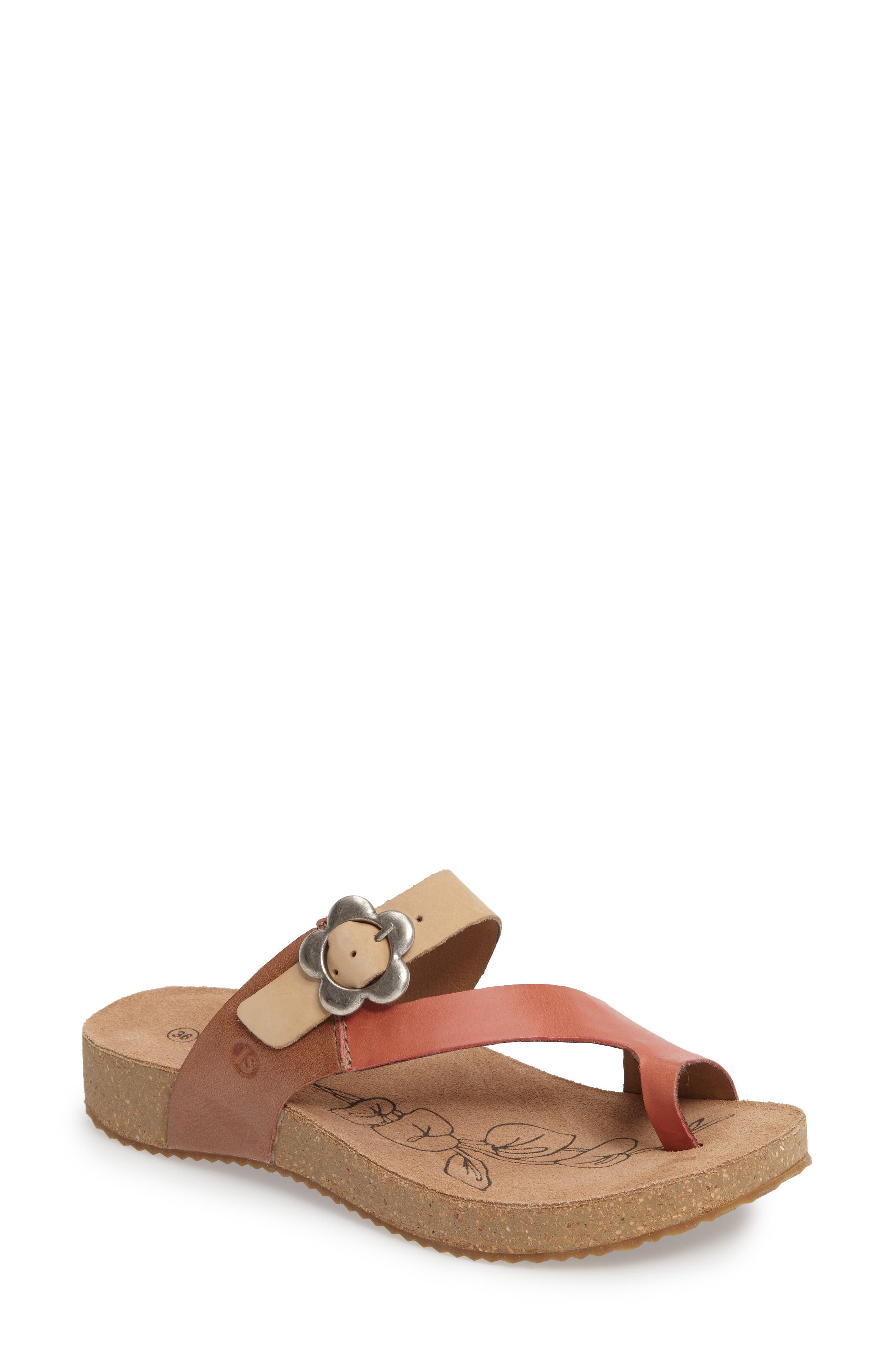 Tonga 23 Sandal,                             Main thumbnail 1, color,                             KORALLE MULTI LEATHER