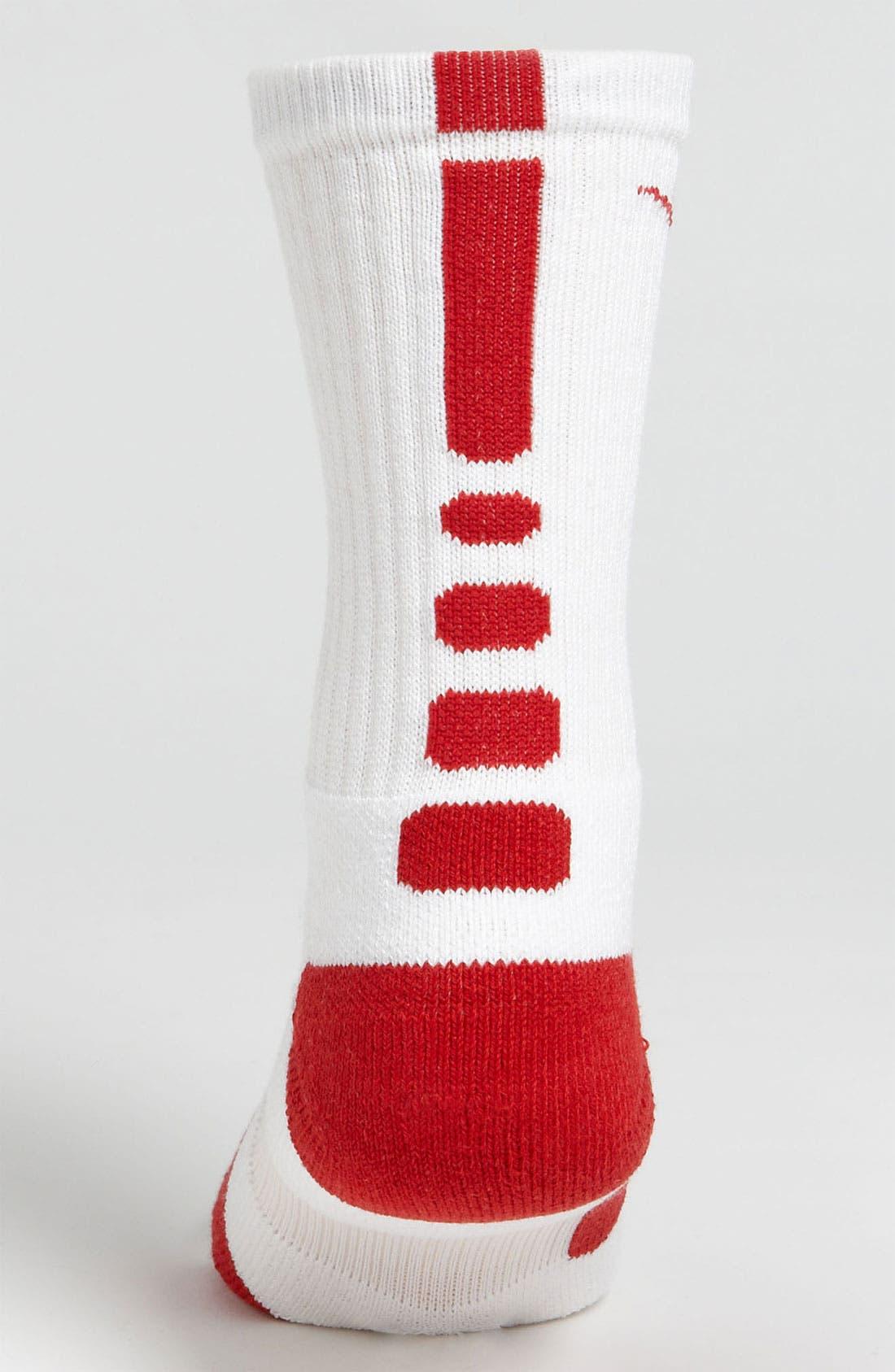 'Elite Basketball' Crew Socks,                             Alternate thumbnail 56, color,