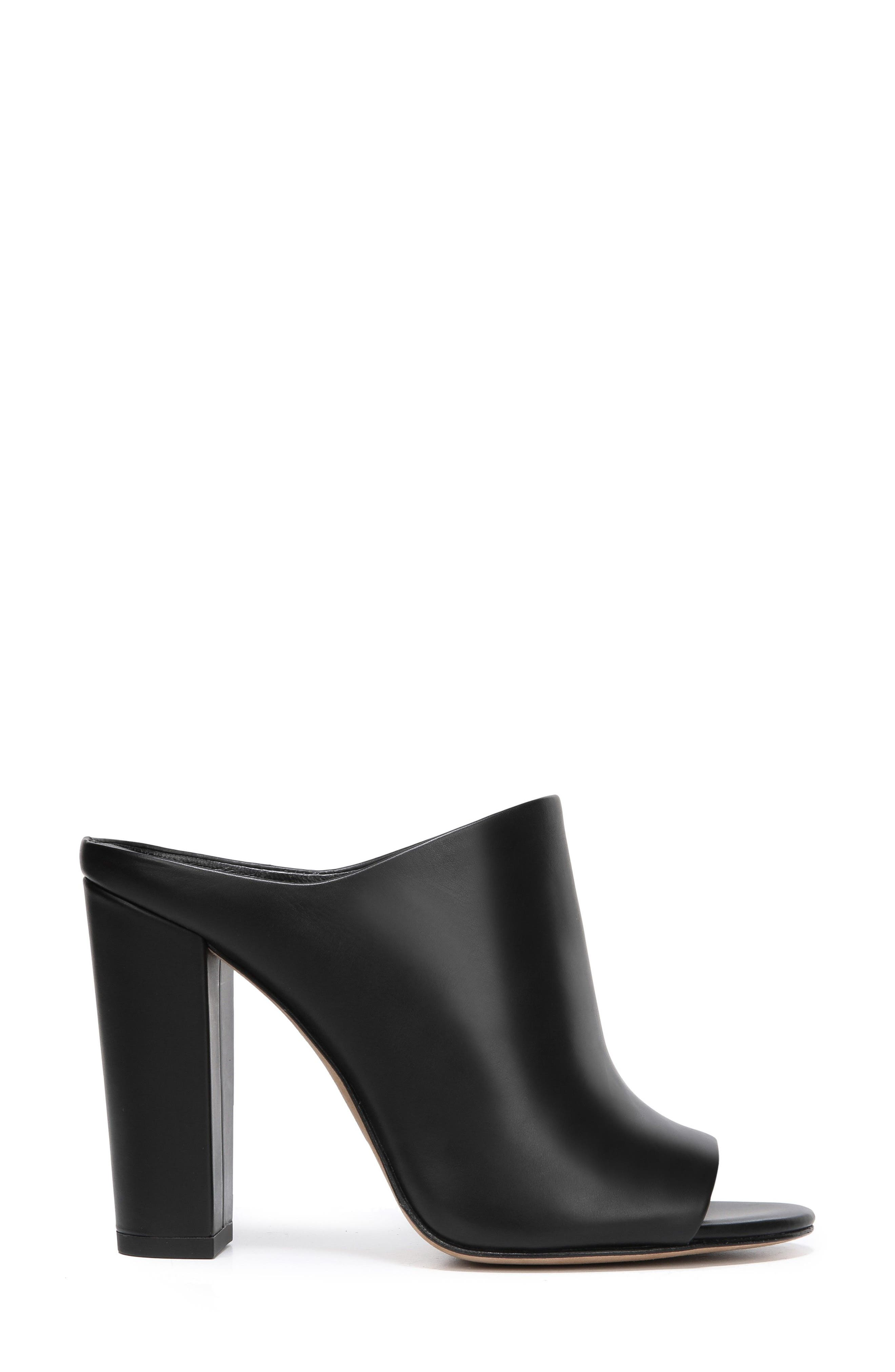 Alora Mule,                             Alternate thumbnail 3, color,                             BLACK
