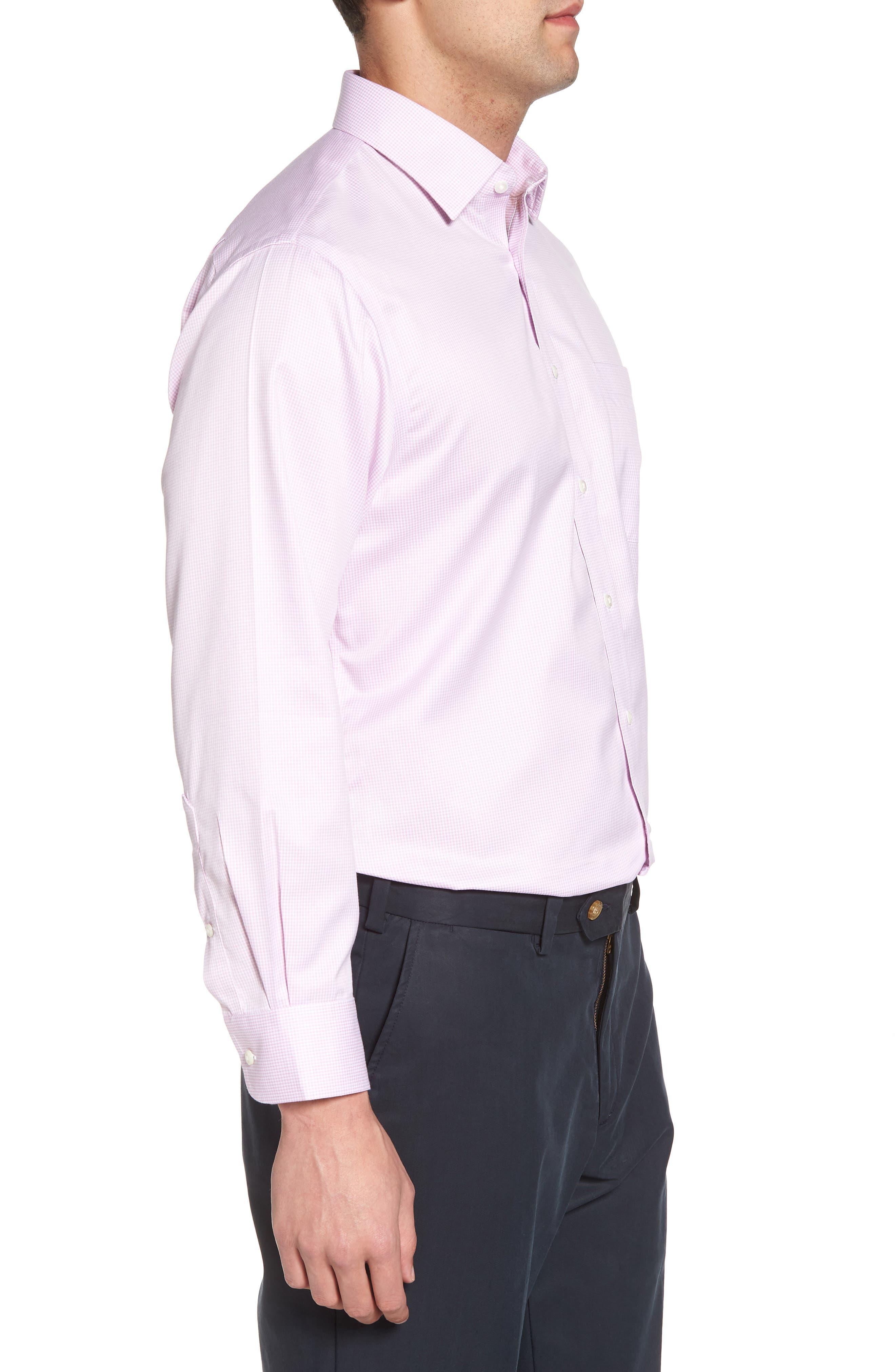 Smartcare<sup>™</sup> Traditional Fit Stripe Dress Shirt,                             Alternate thumbnail 12, color,