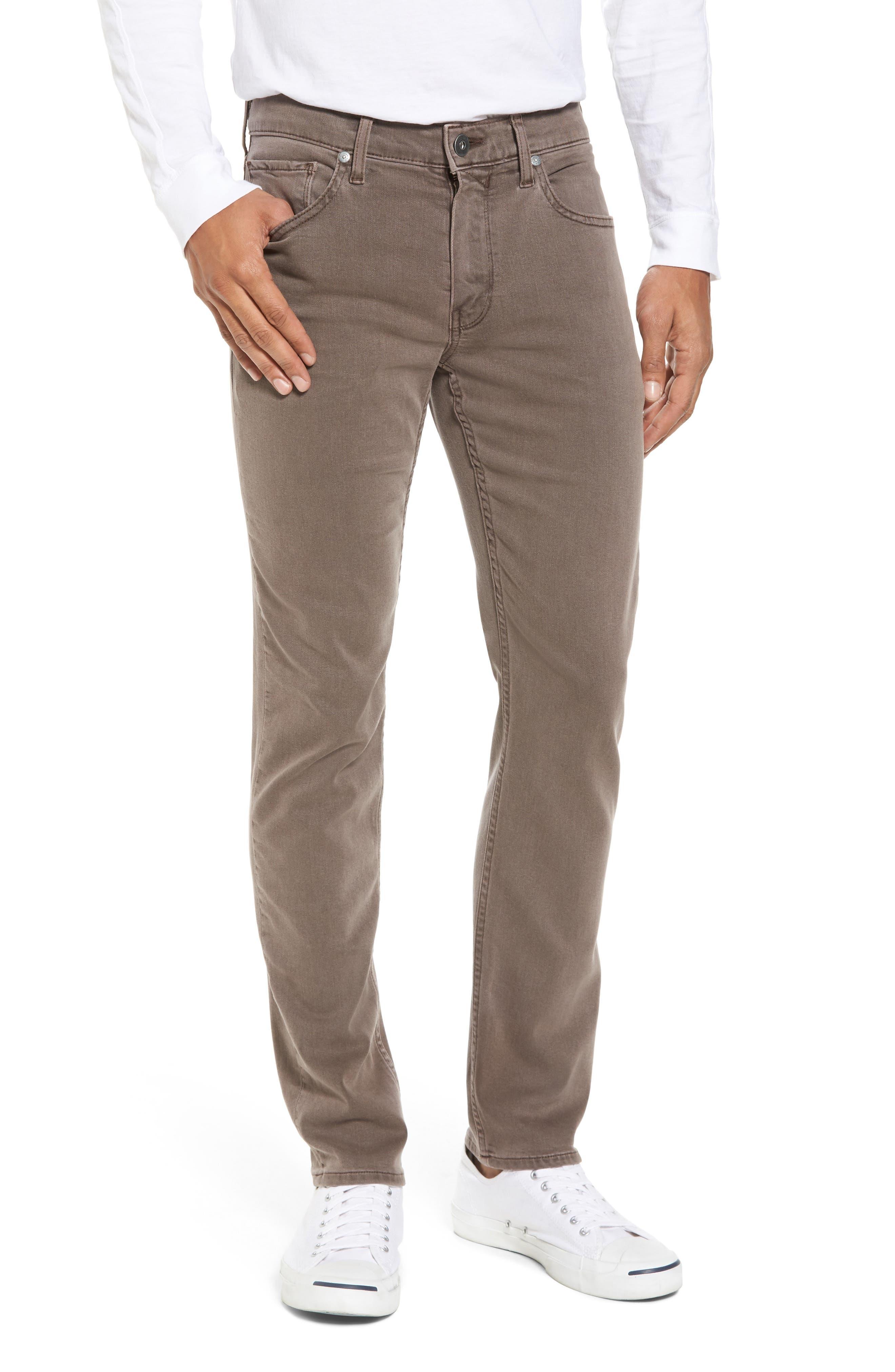 Transcend - Lennox Slim Fit Jeans,                             Main thumbnail 1, color,                             VINTAGE SAND BAR