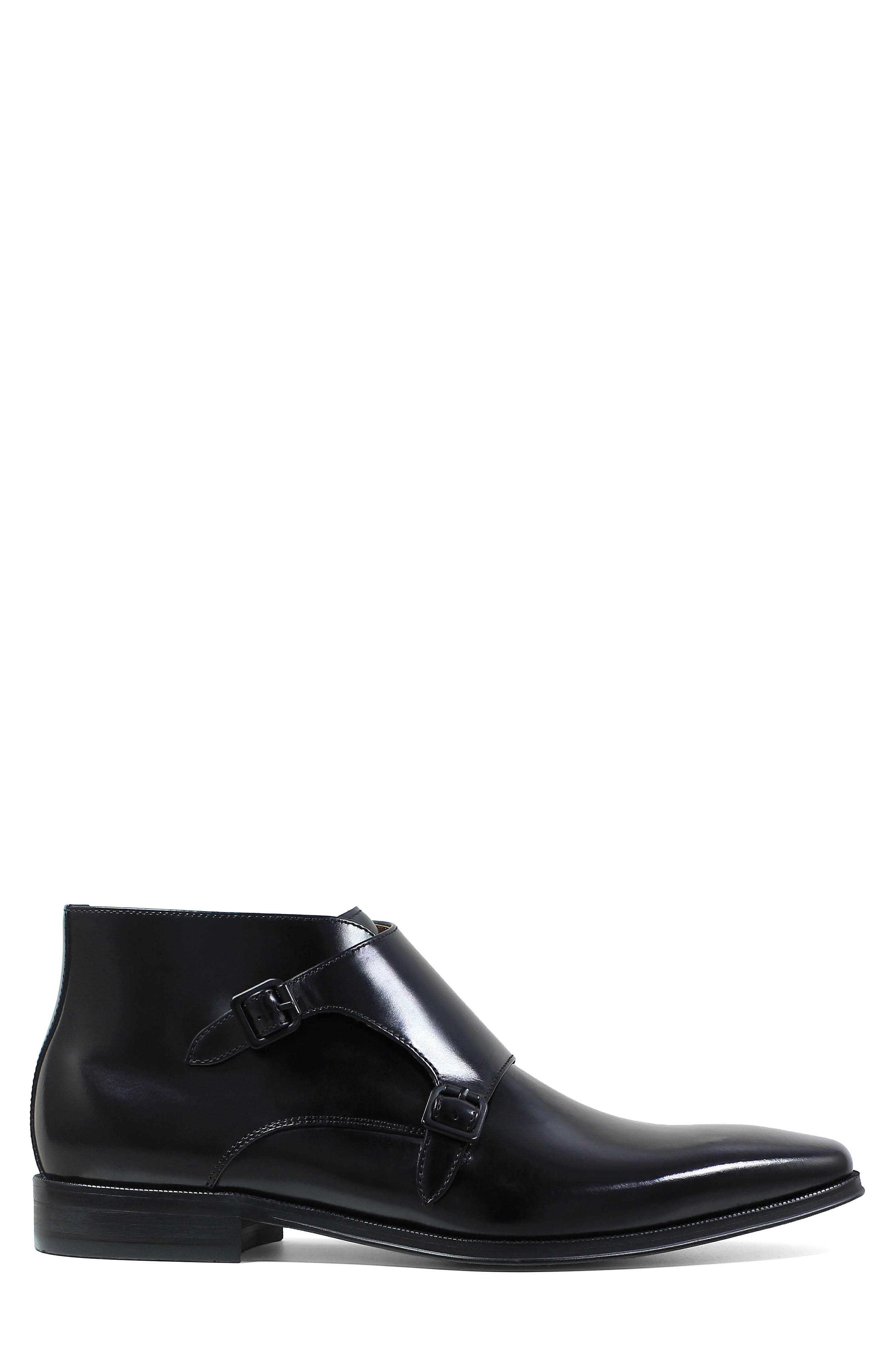 Belfast Double Monk Strap Boot,                             Alternate thumbnail 5, color,