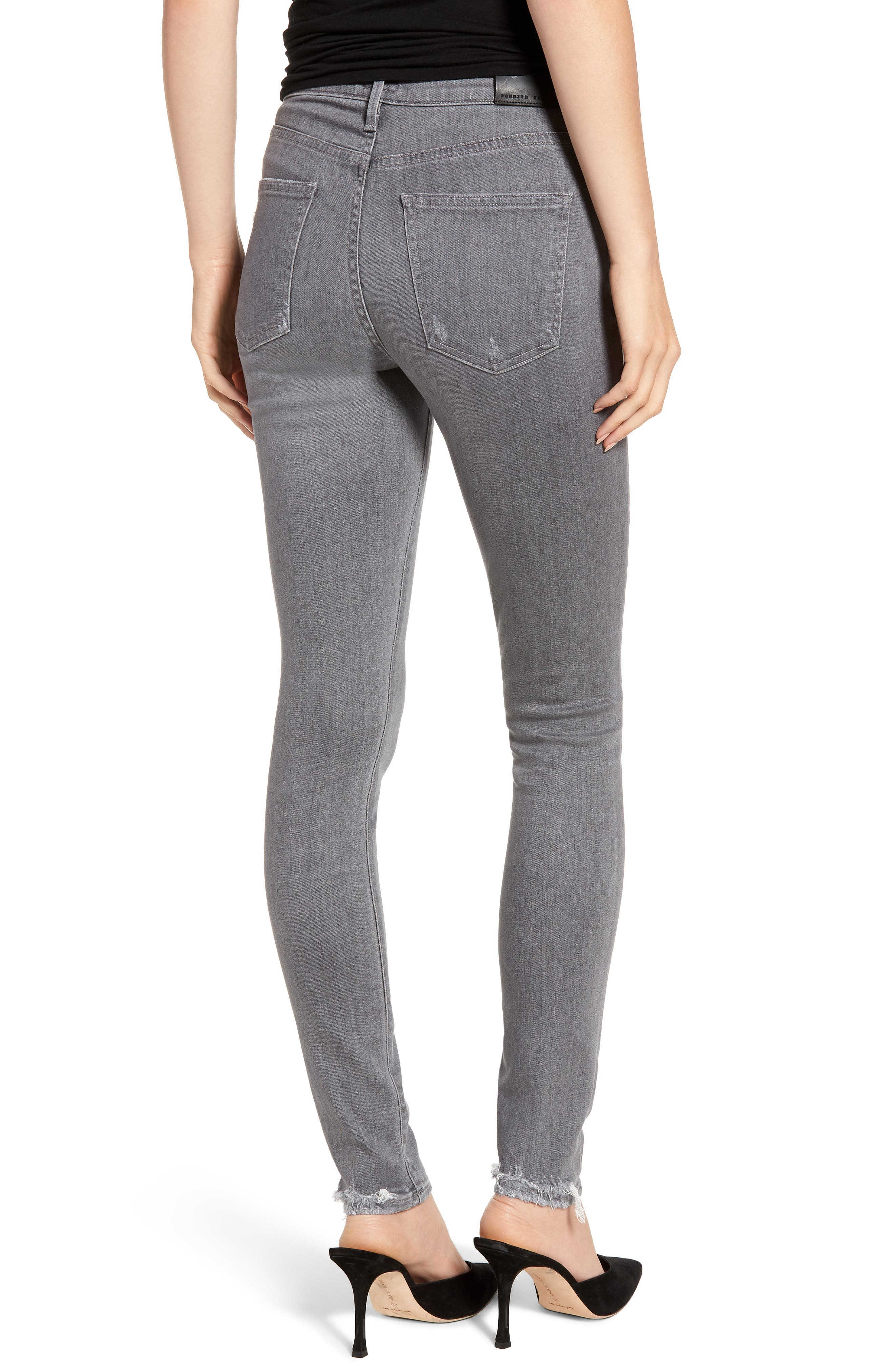 CITIZENS OF HUMANITY,                             Rocket High Waist Skinny Jeans,                             Alternate thumbnail 2, color,                             STATUETTE