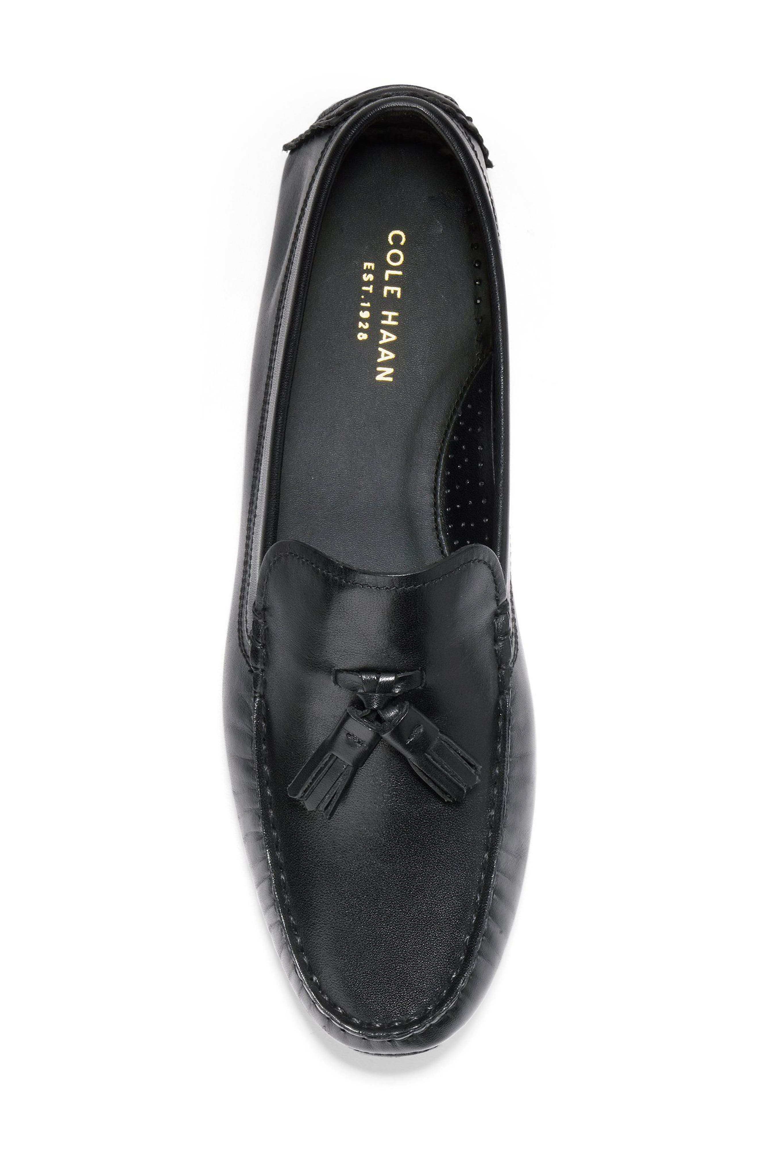 Rodeo Tassel Driving Loafer,                             Alternate thumbnail 5, color,                             001