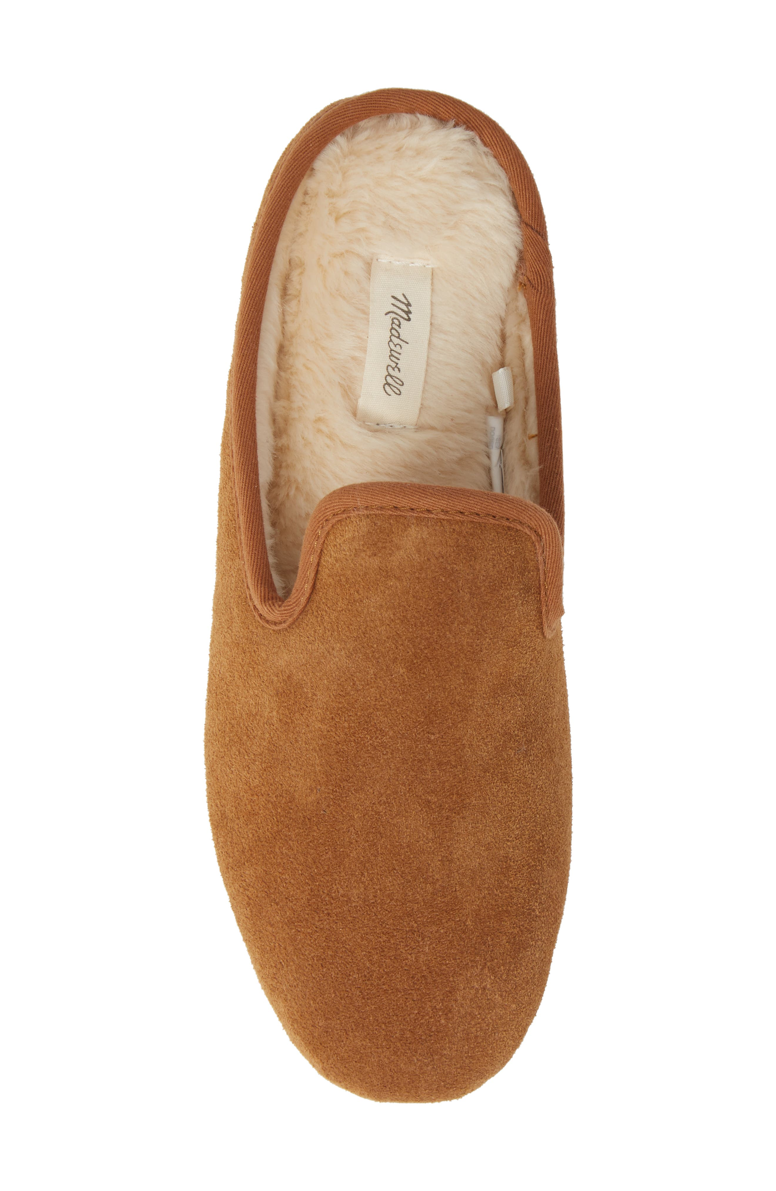 The Loafer Scuff Slipper,                             Alternate thumbnail 5, color,                             TIMBER BEAM
