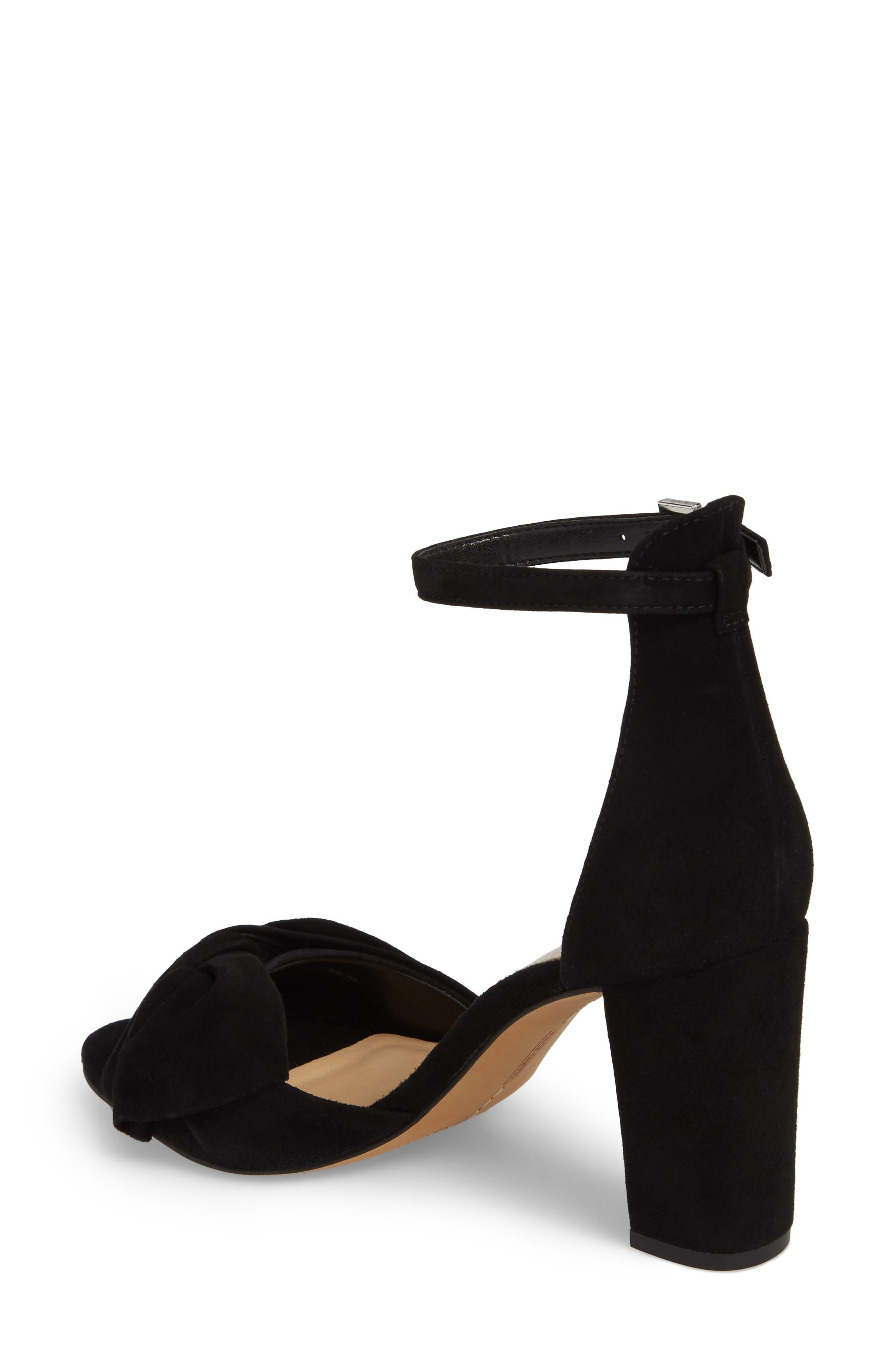 Carrelen Block Heel Sandal,                             Alternate thumbnail 2, color,                             001