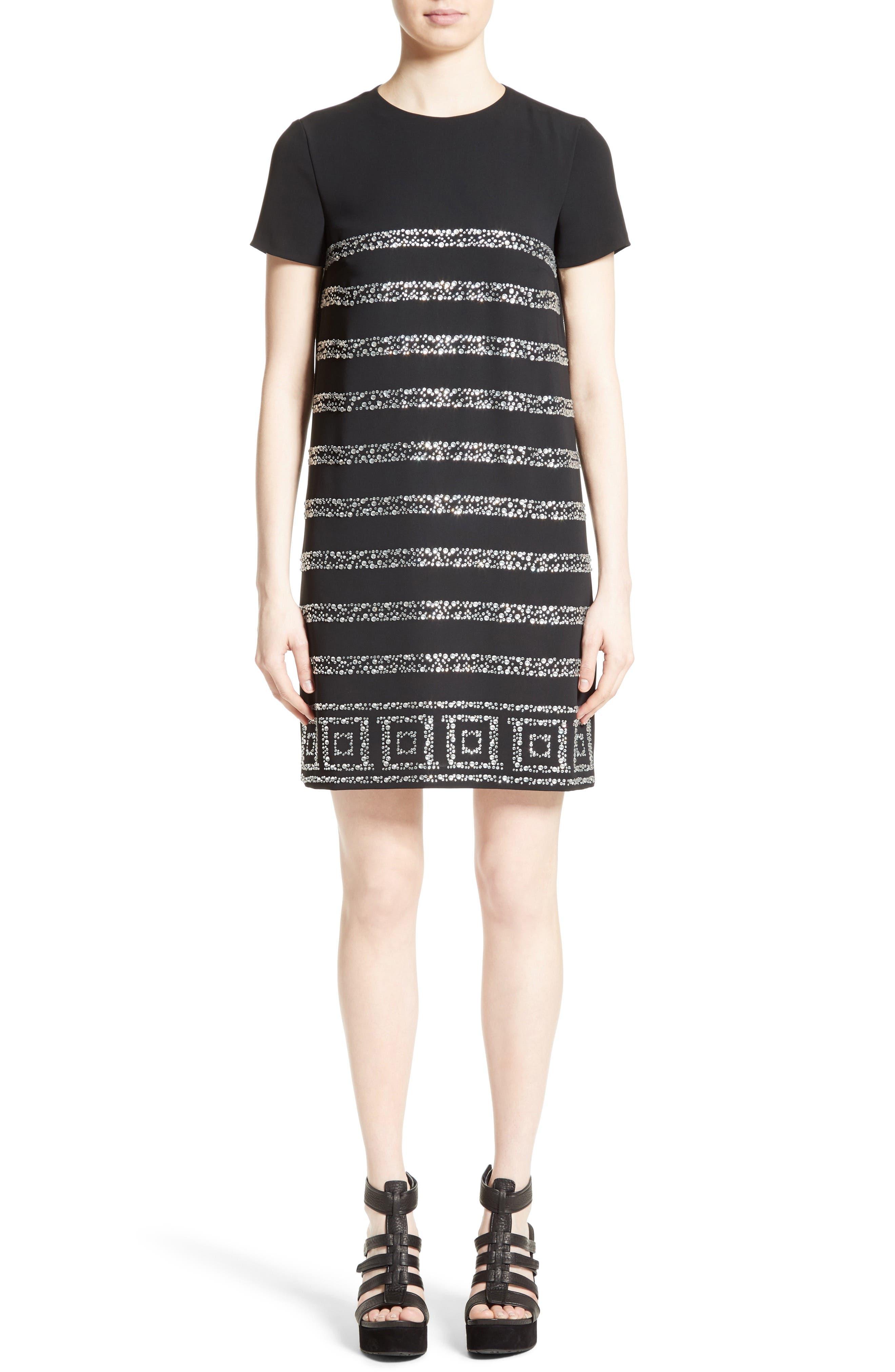 Rhinestone Dress,                         Main,                         color, 440