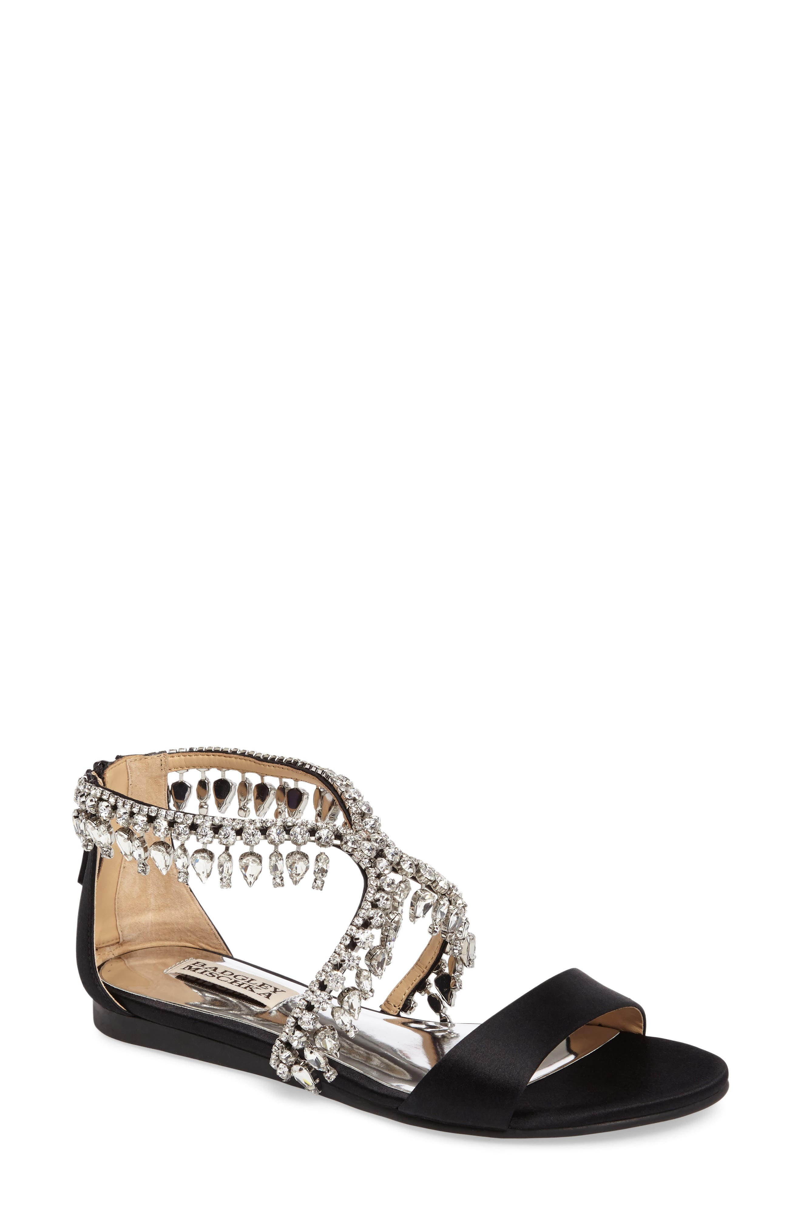 Tristen Crystal Sandal,                         Main,                         color,