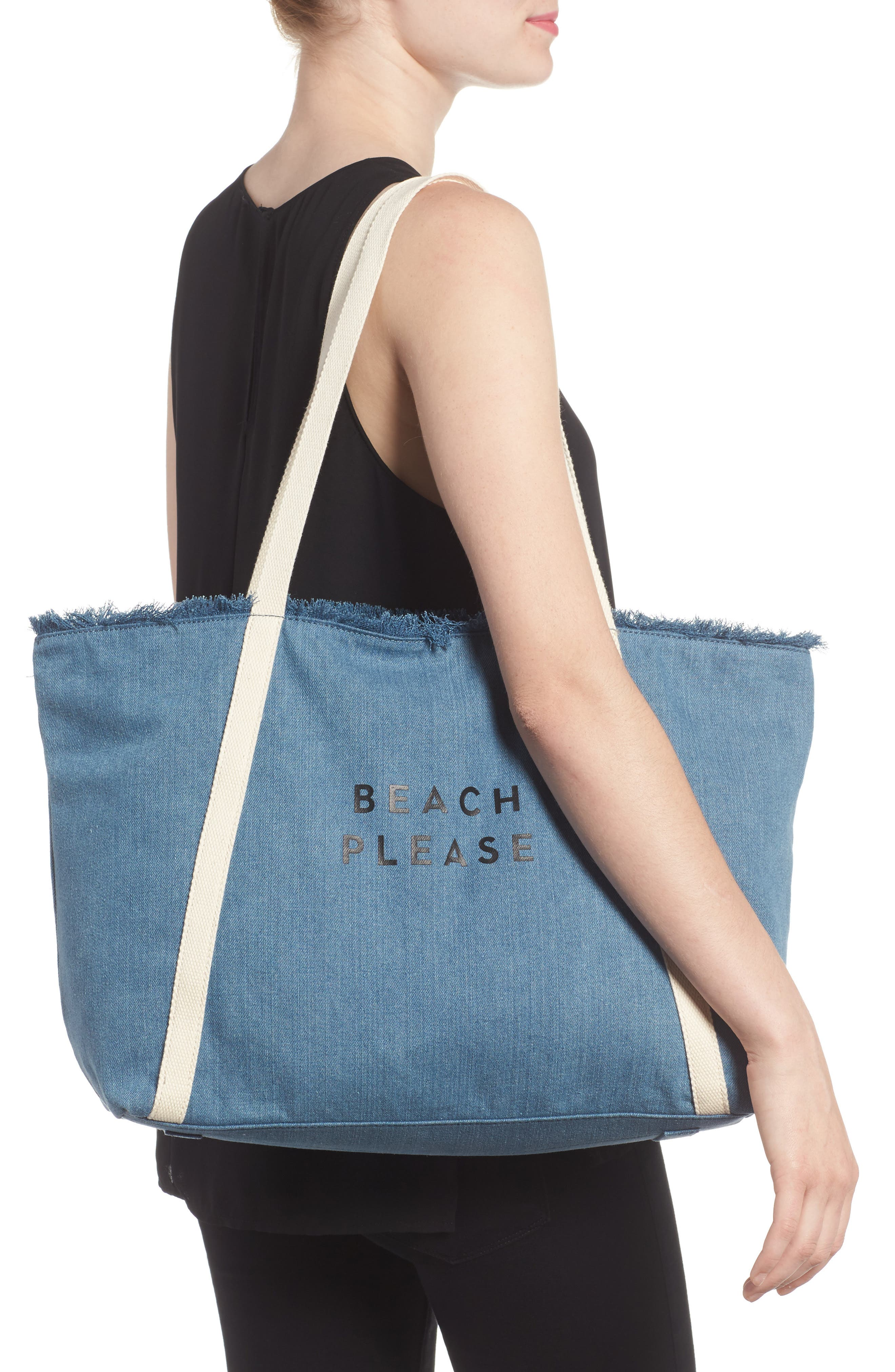 Canvas Tote,                             Alternate thumbnail 2, color,                             400