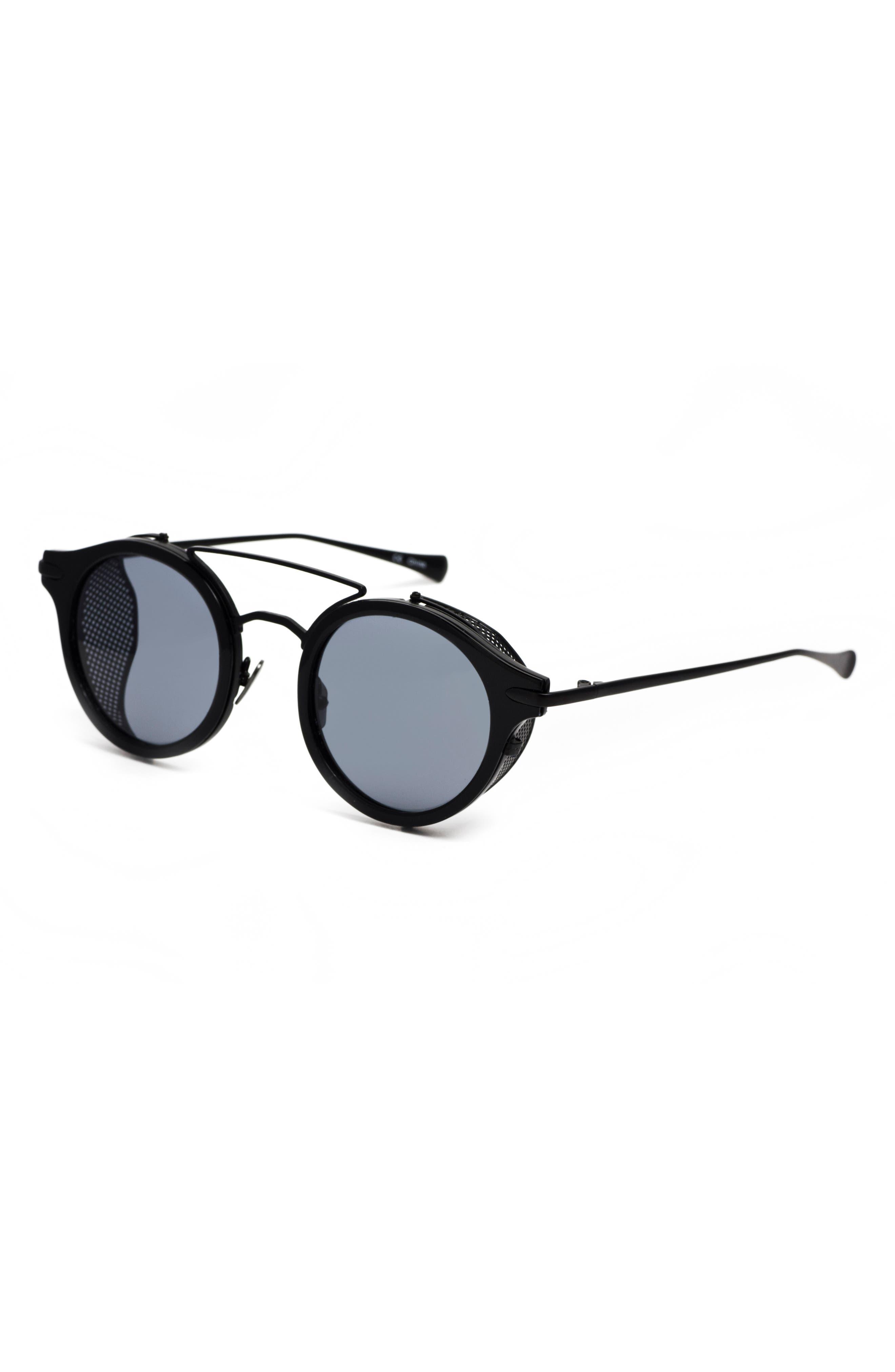Mile High 47mm Sunglasses,                             Alternate thumbnail 4, color,                             001