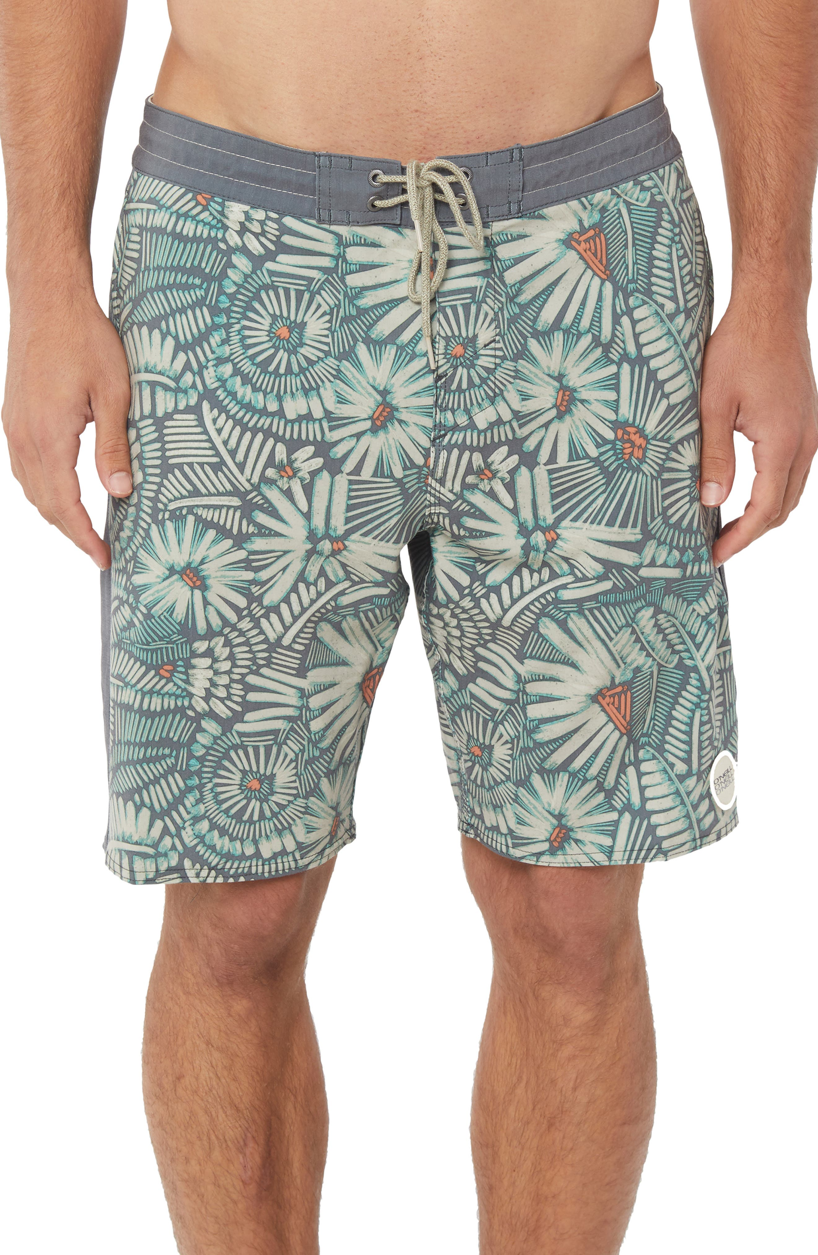 Ditz Guy Cruzer Board Shorts,                             Main thumbnail 1, color,                             AQUARIUS