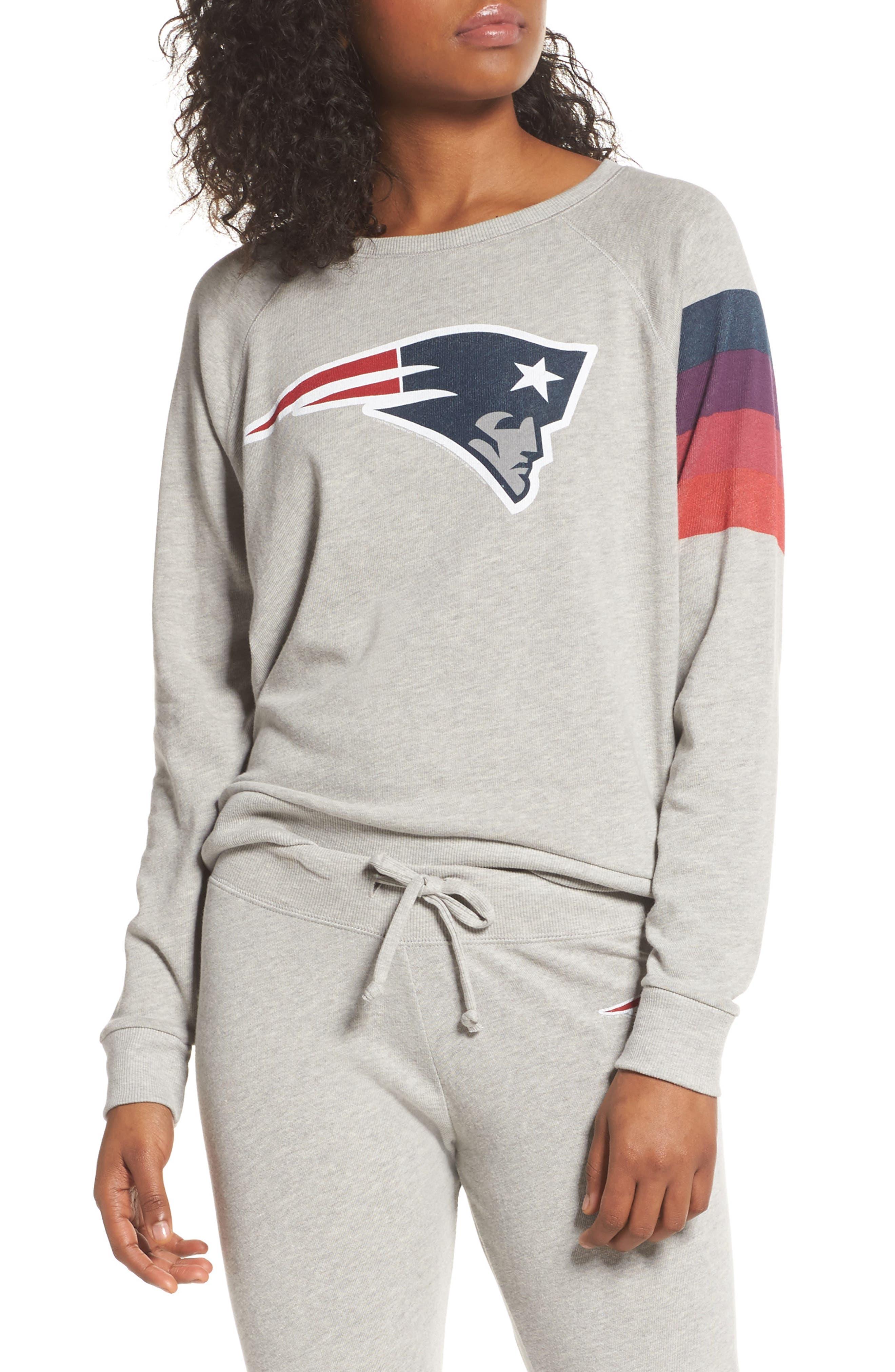 NFL New England Patriots Hacci Sweatshirt,                             Main thumbnail 1, color,                             030