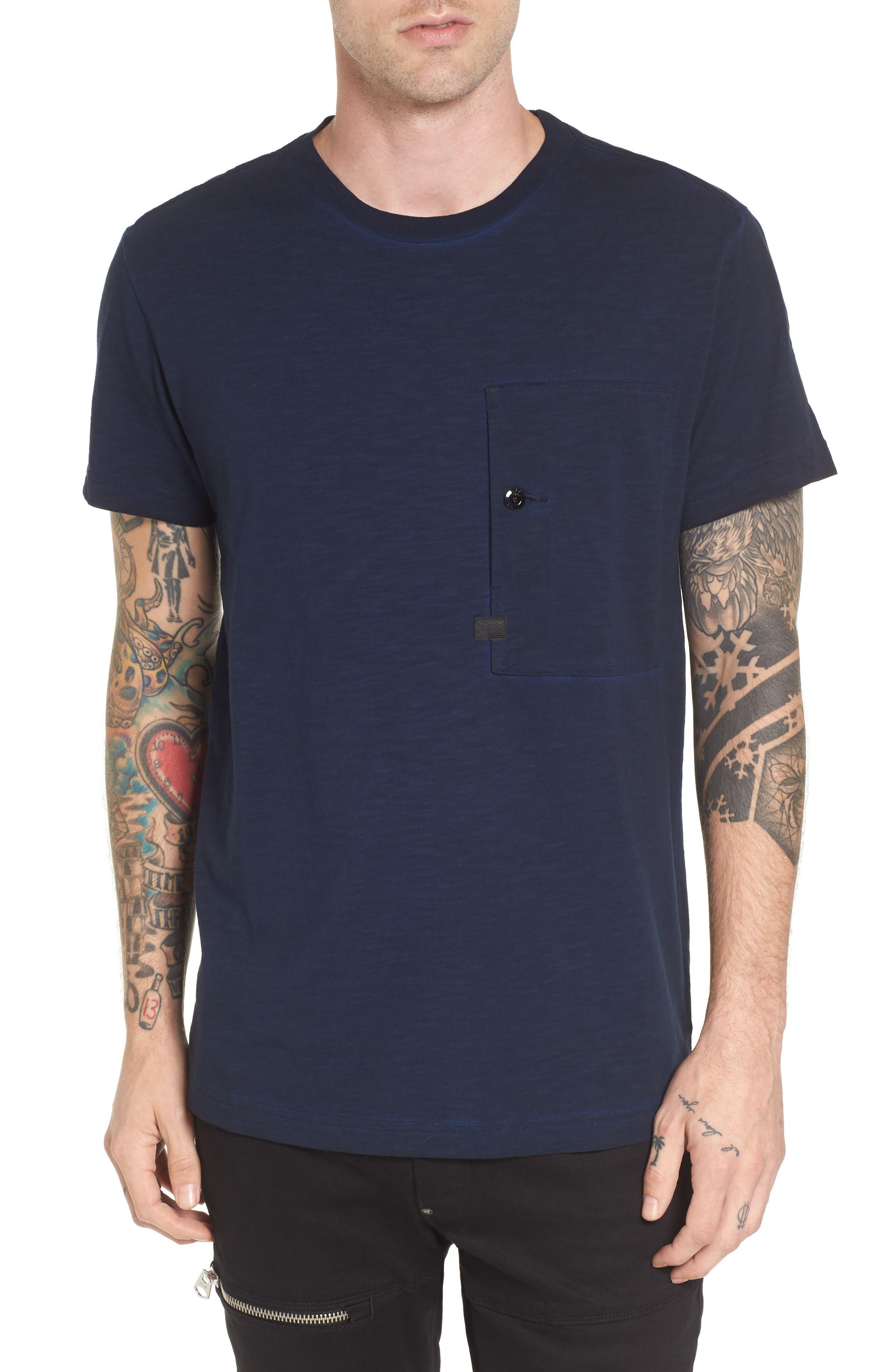 Stalt Pocket T-Shirt,                         Main,                         color, 400