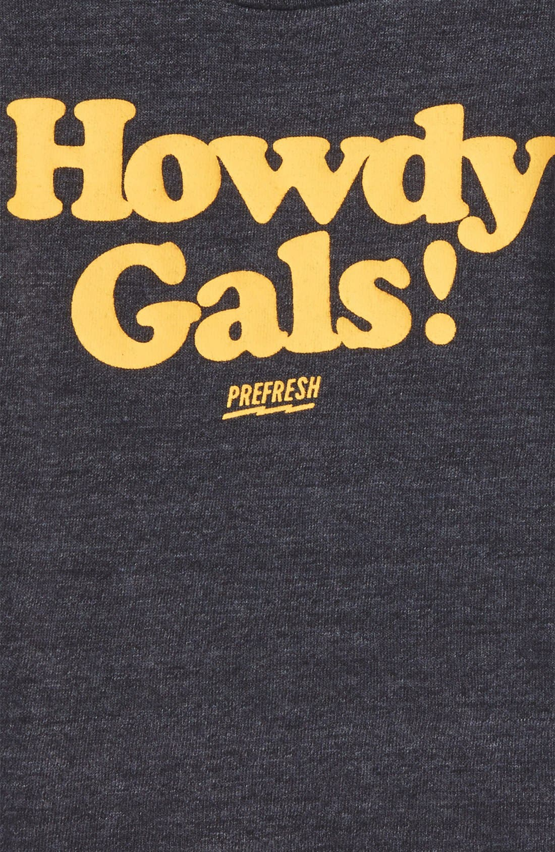 Howdy Gals Graphic T-Shirt,                             Alternate thumbnail 2, color,                             001