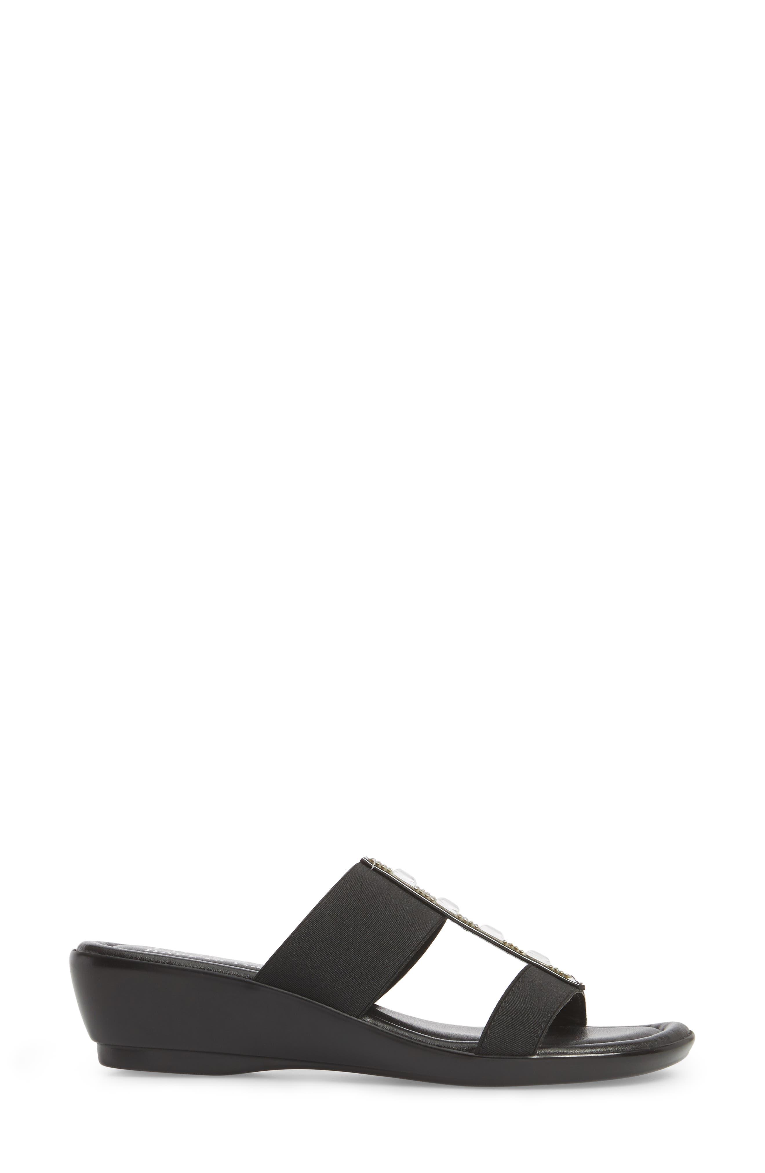 by Easy Street<sup>®</sup> Elba Embellished Slide Sandal,                             Alternate thumbnail 9, color,
