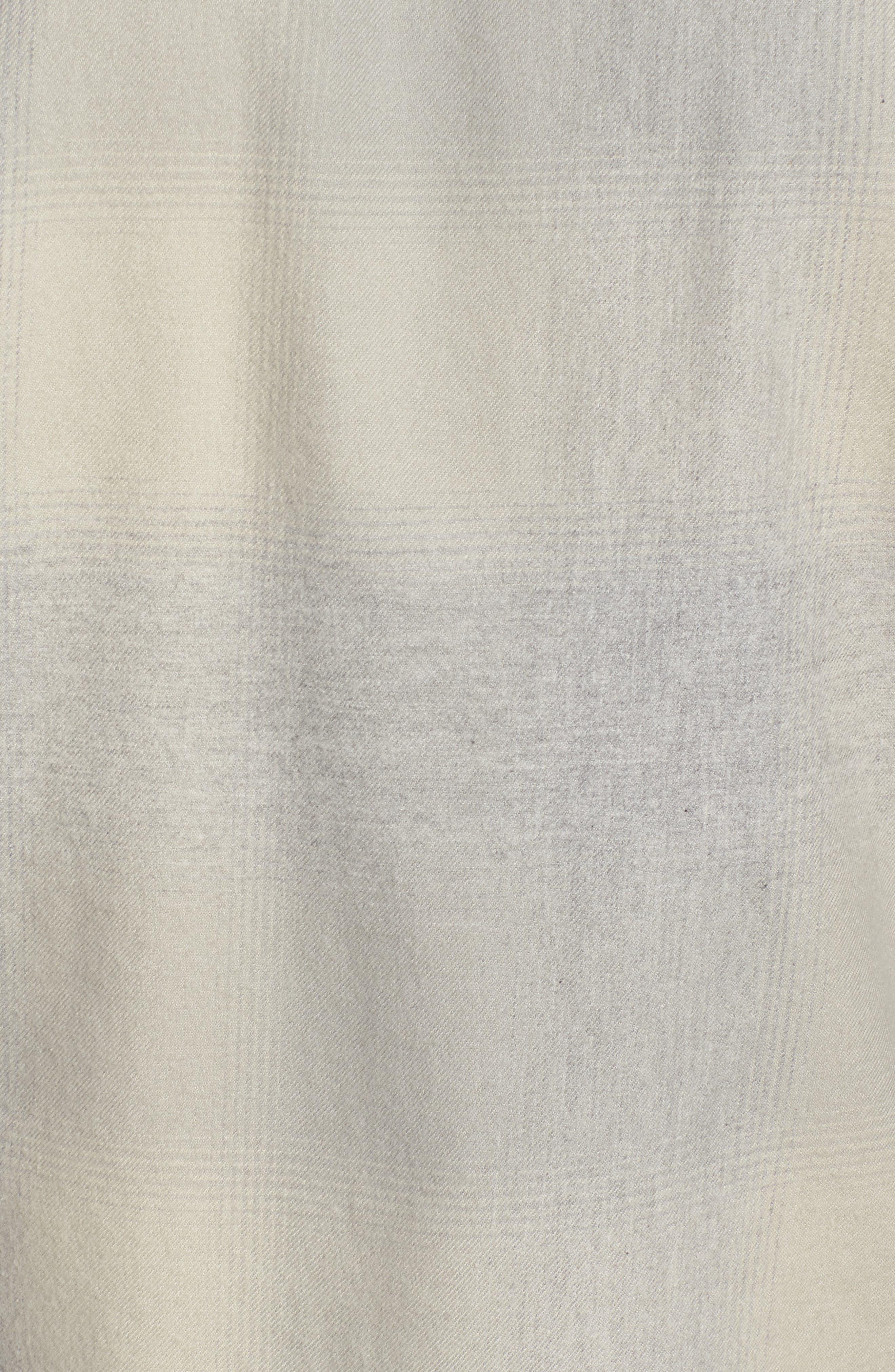 JAMES PERSE,                             Ghost Regular Fit Plaid Sport Shirt,                             Alternate thumbnail 5, color,                             086