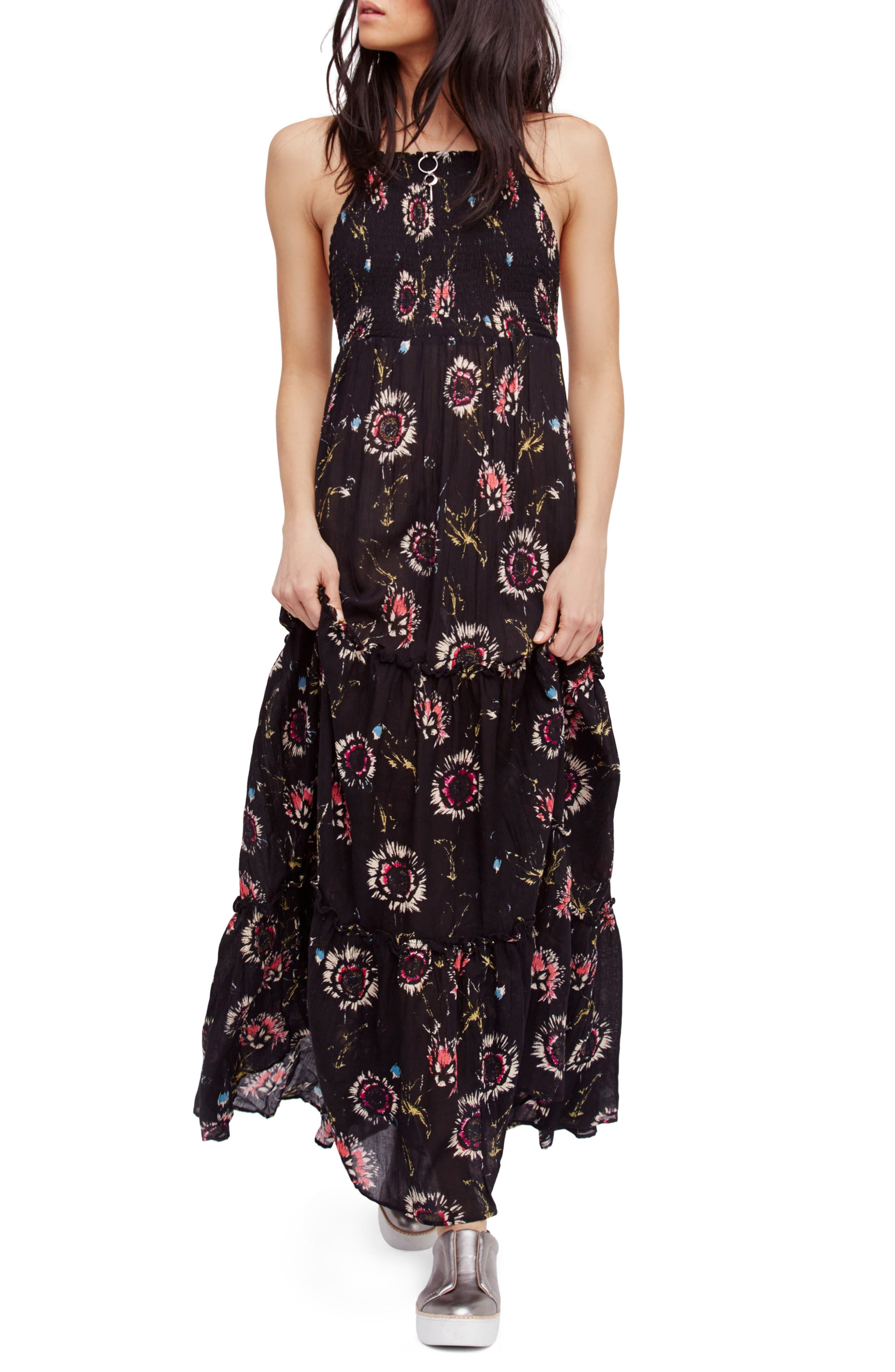 Garden Party Maxi Dress,                             Main thumbnail 5, color,