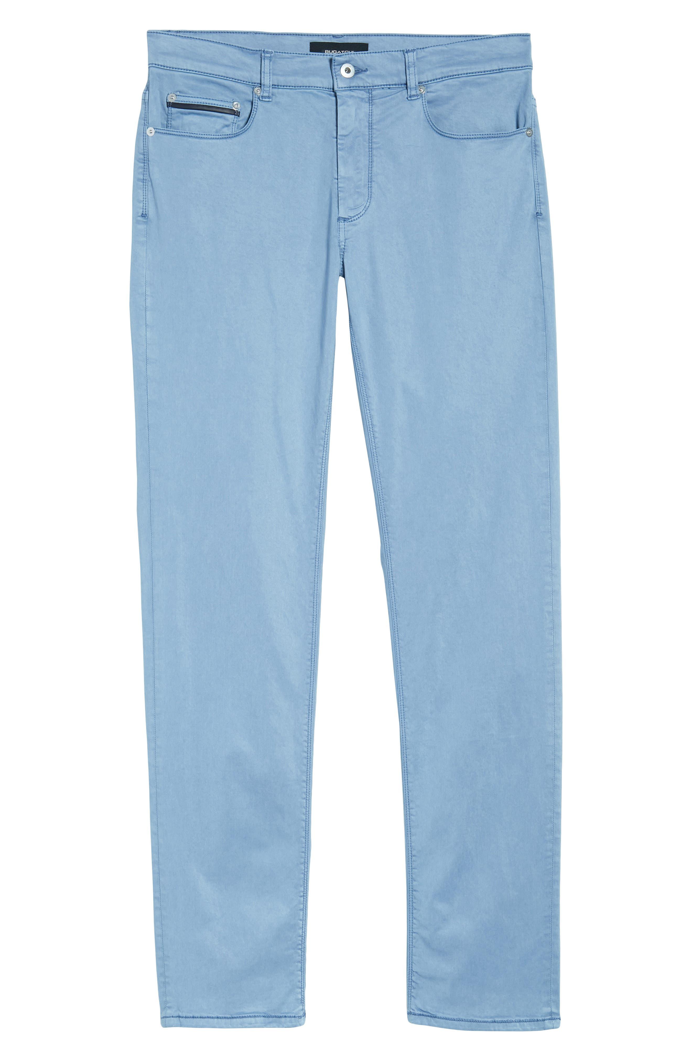 Slim Fit Washed Five-Pocket Pants,                             Alternate thumbnail 24, color,