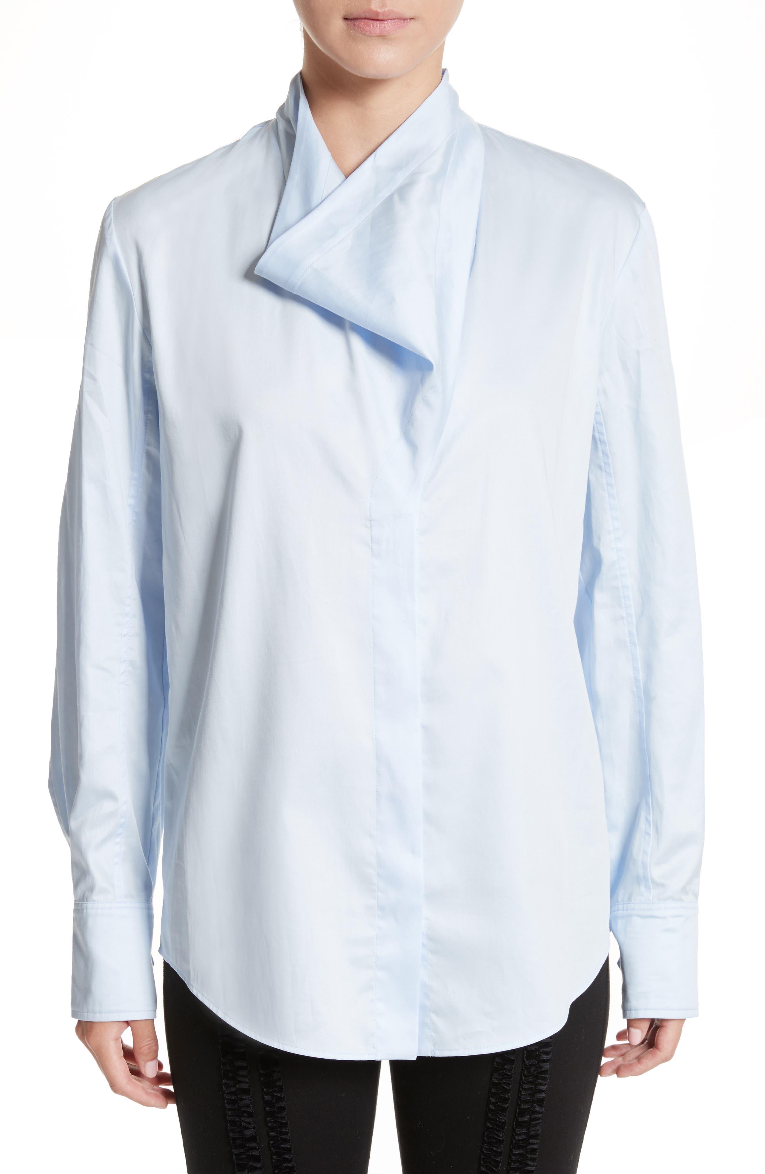 Damiane Cotton Poplin Shirt,                         Main,                         color,