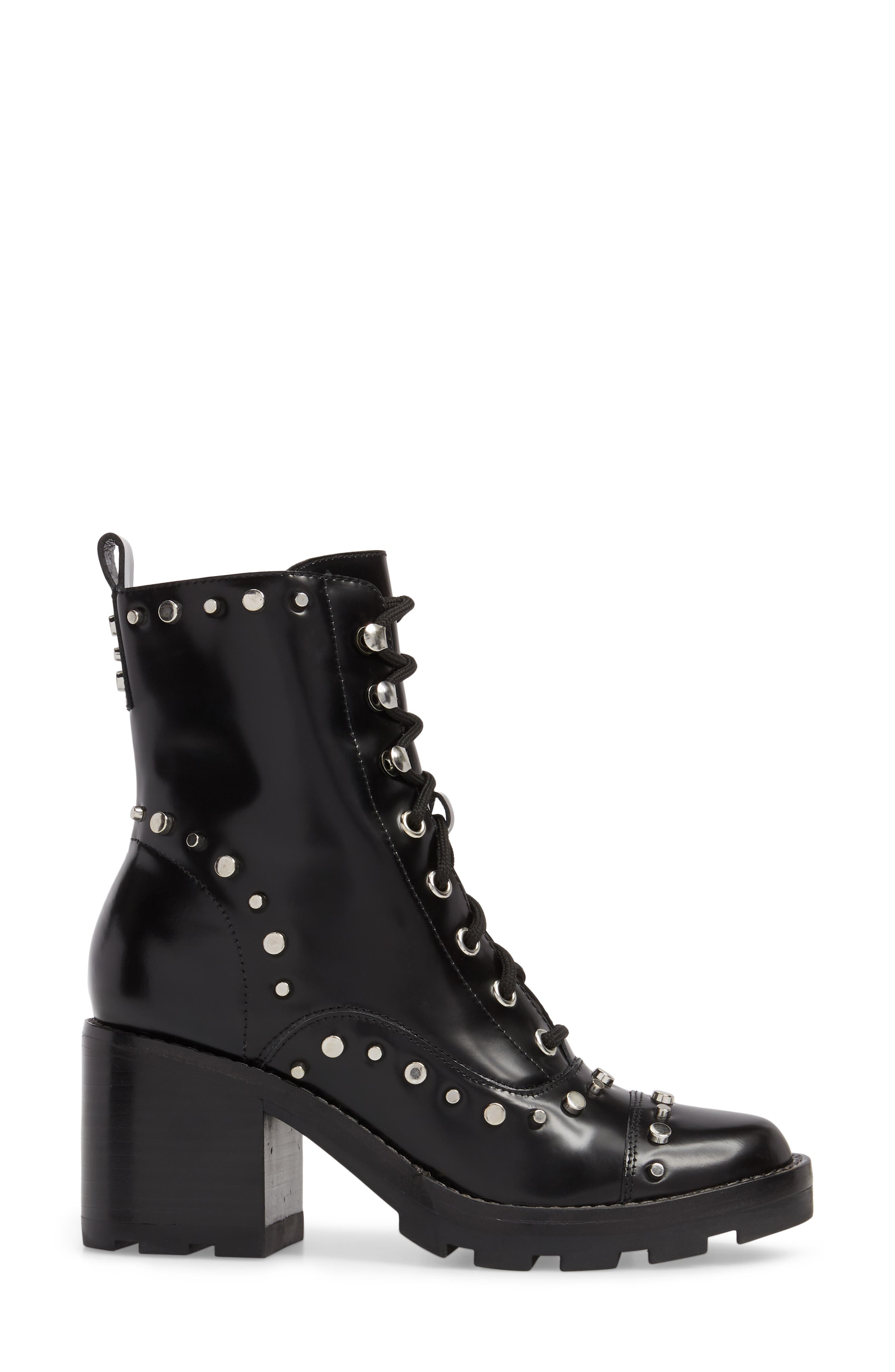 Westly Combat Boot,                             Alternate thumbnail 3, color,                             001