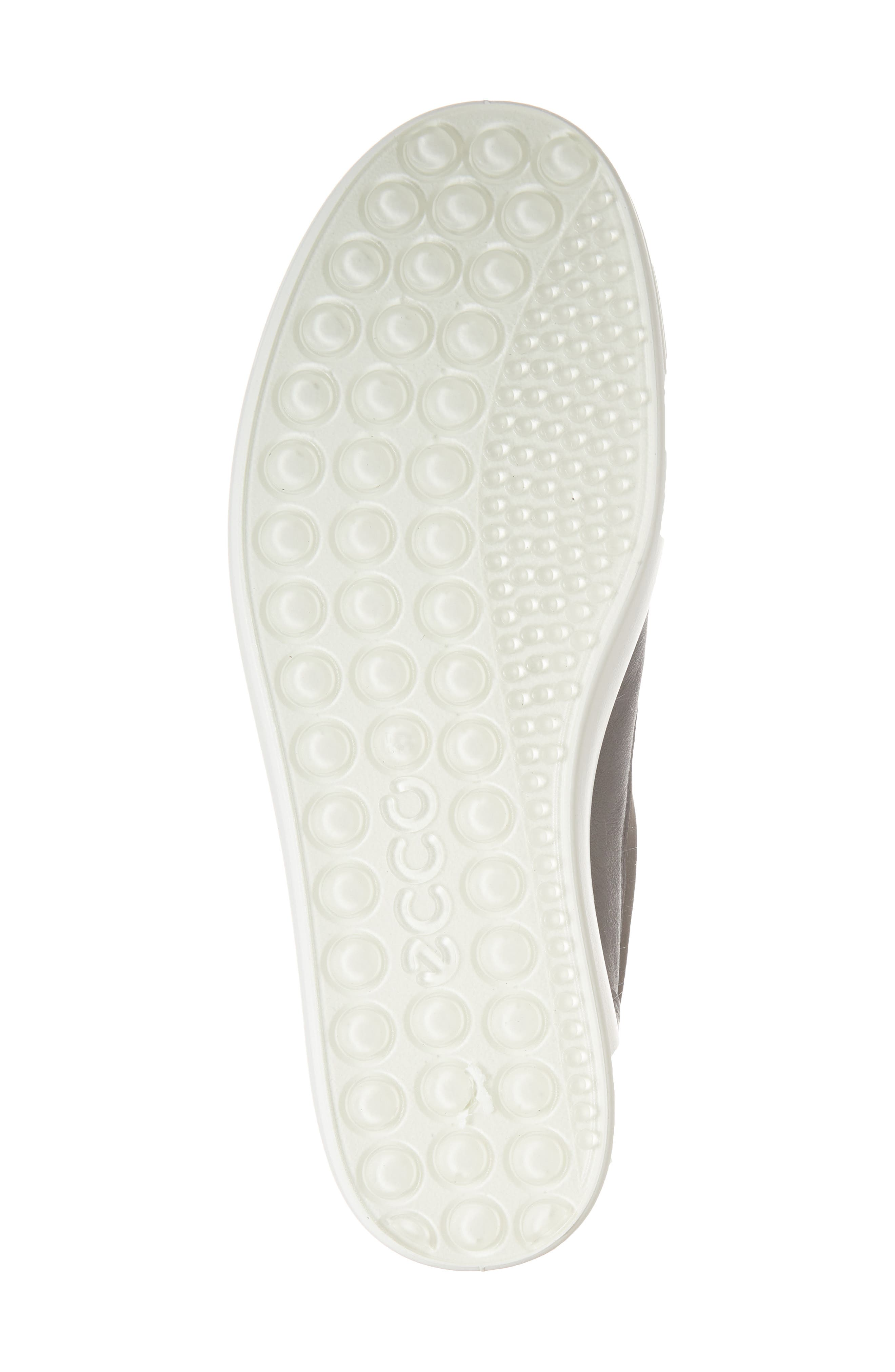Soft 7 II Slip-On Sneaker,                             Alternate thumbnail 6, color,                             DARK SHADOW LEATHER