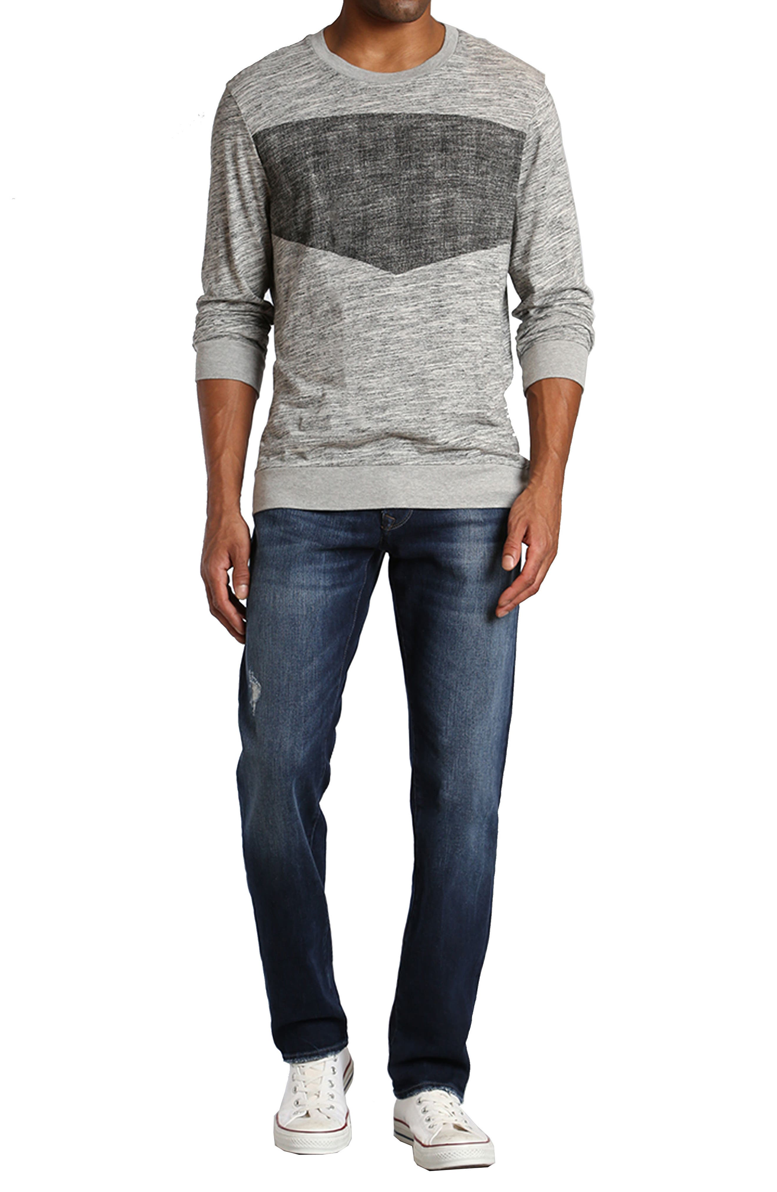 Marcus Slim Straight Leg Jeans,                             Alternate thumbnail 7, color,                             401