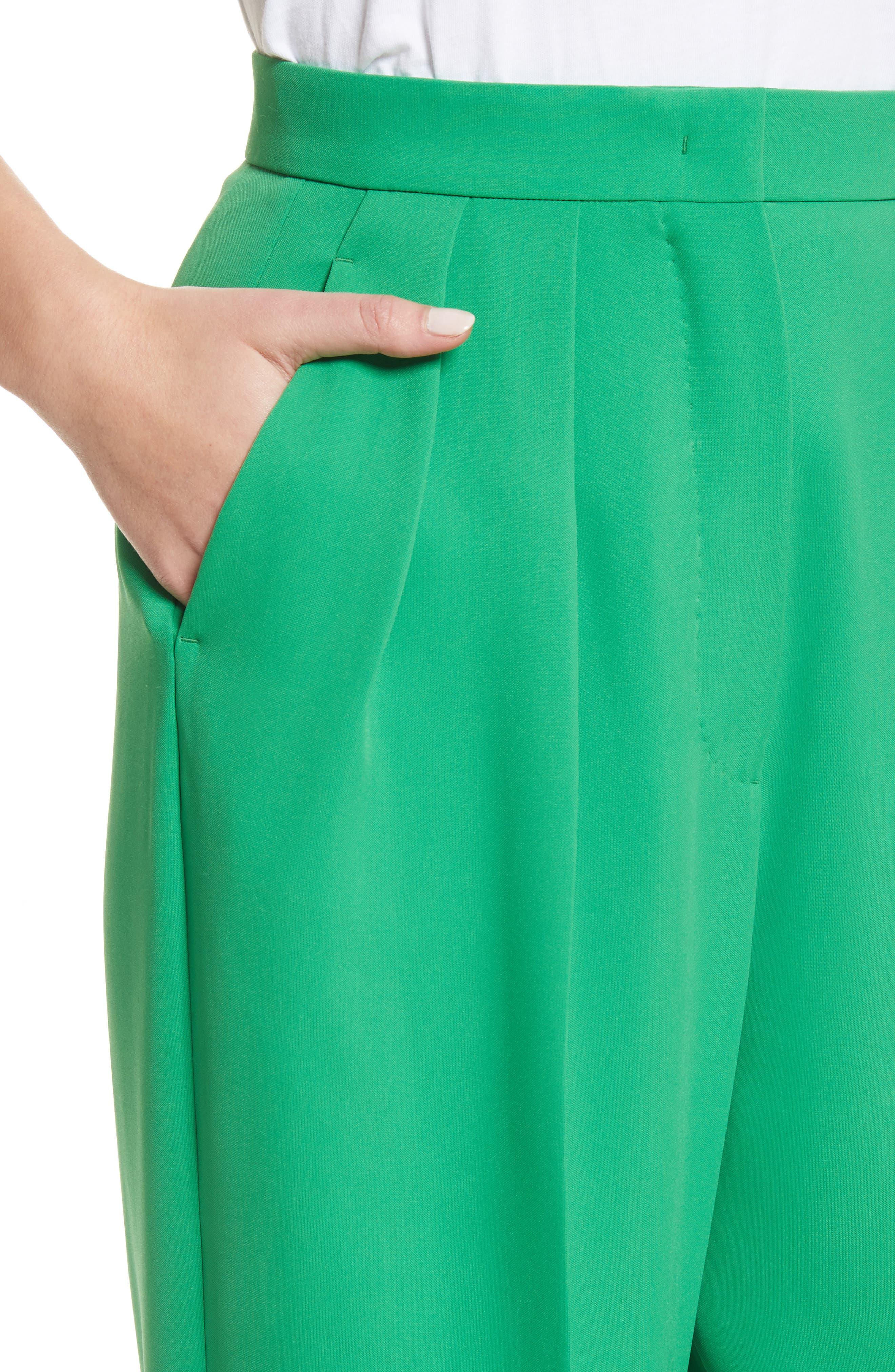 High Waist Crop Pants,                             Alternate thumbnail 4, color,                             300