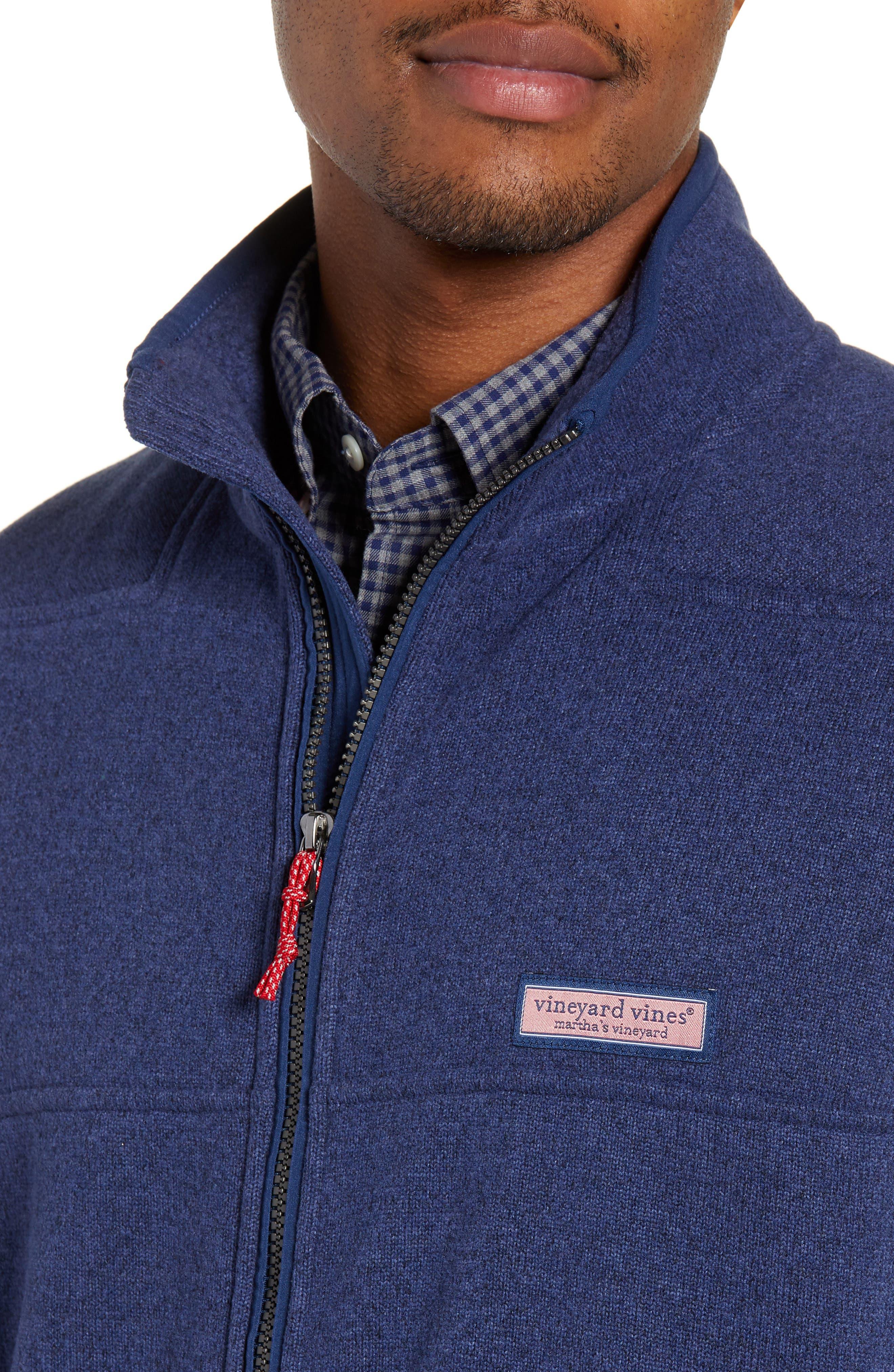 Fleece Vest,                             Alternate thumbnail 4, color,                             DEEP BAY