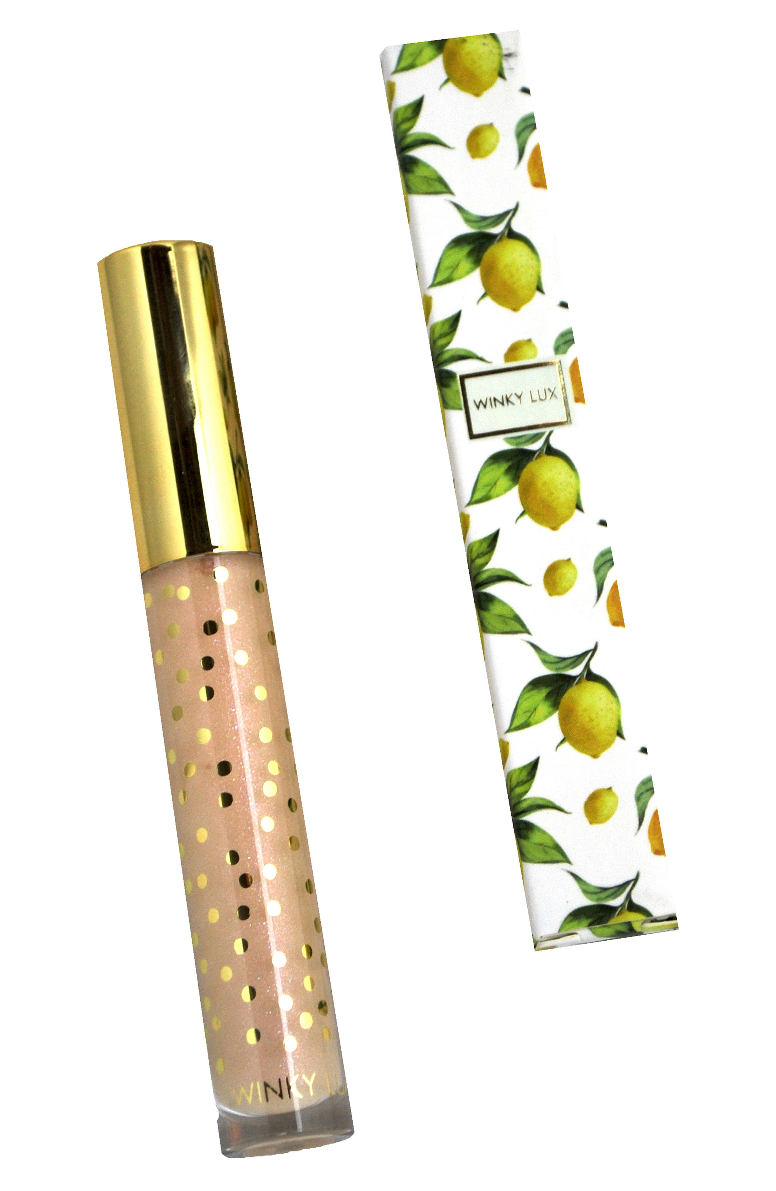 WINKY LUX Pucker Up Lip Plumping Gloss, Main, color, 000