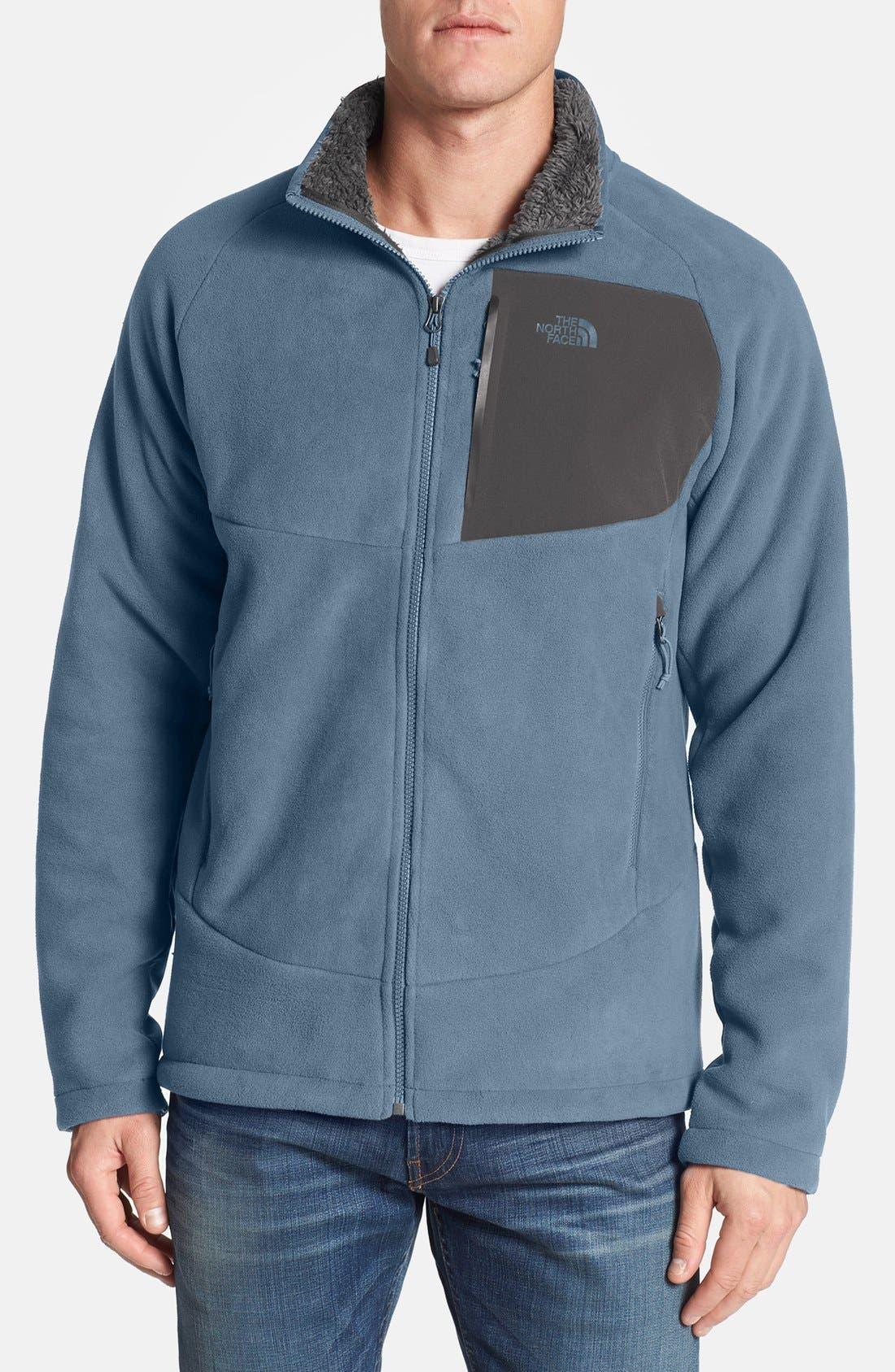 'Chimborazo' Zip Front Fleece Jacket,                             Main thumbnail 13, color,